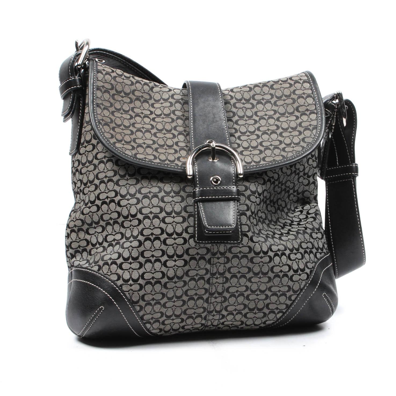 Coach Convertible Soho Slim Duffel Messenger Bag