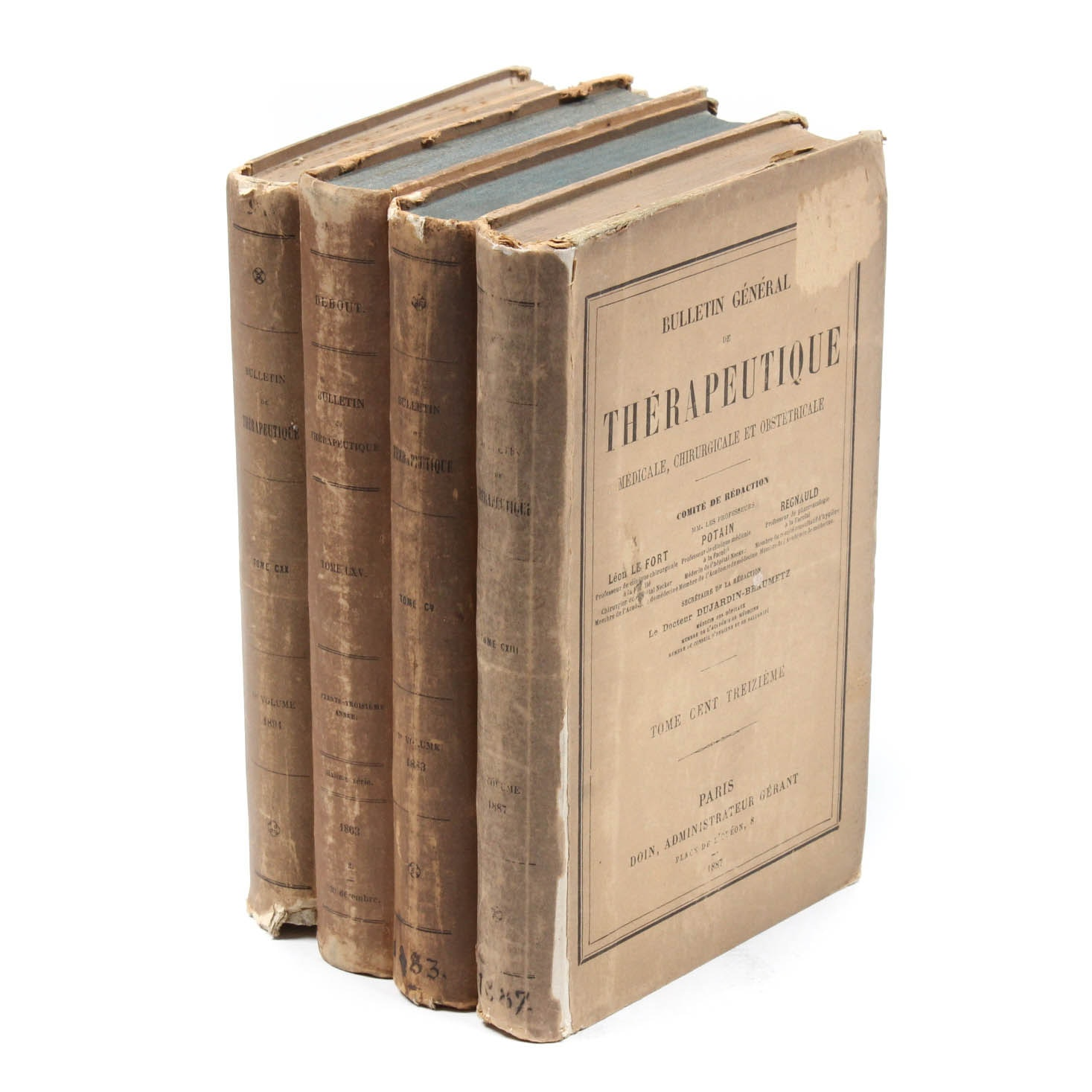 Antique French Medical Journals