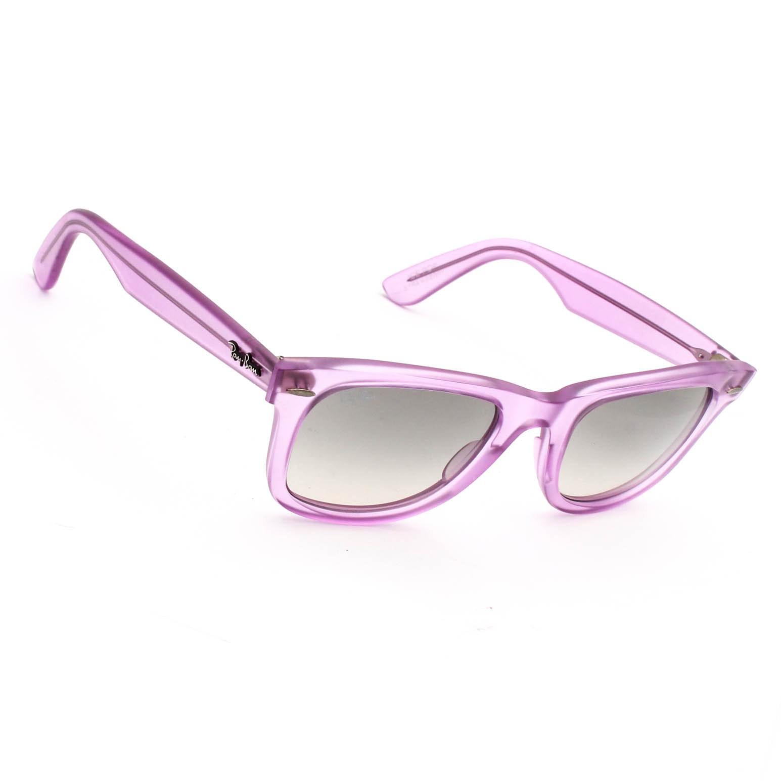 Ray Ban Strawberry Ice Pop Wayfarer Sunglasses