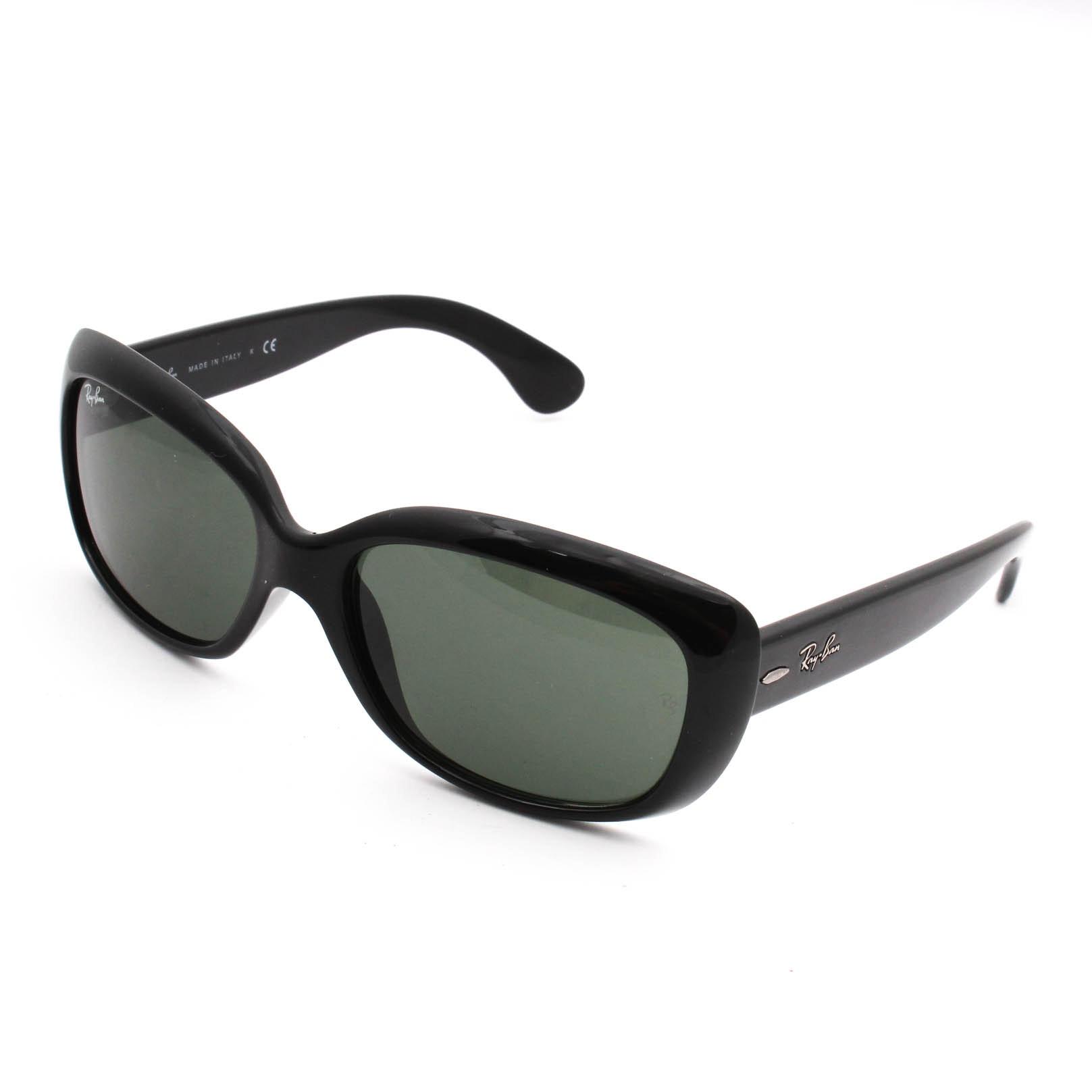 "Ray Ban ""Jackie Ohh"" RB4101 Black Sunglasses"