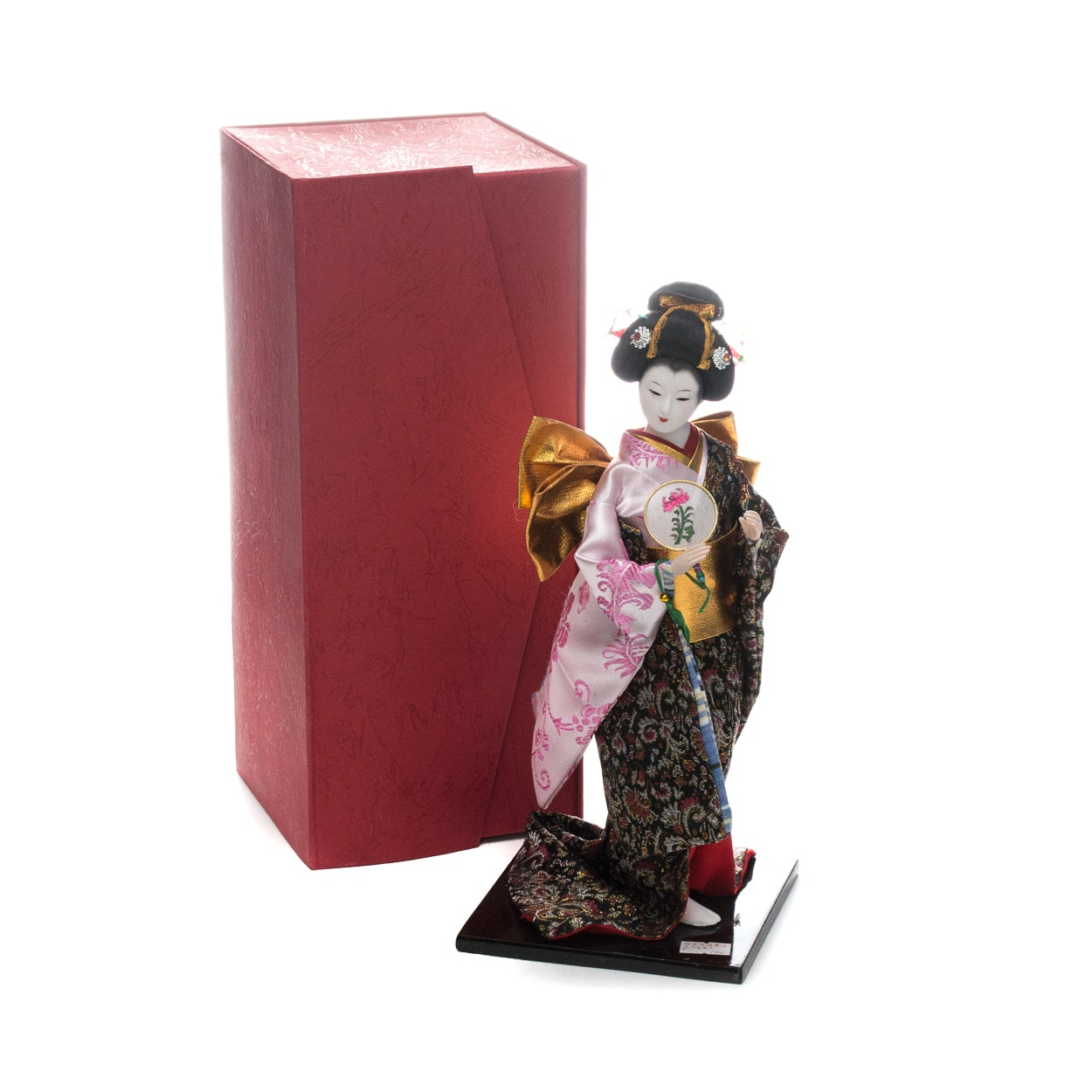 Japanese Doll with Stand