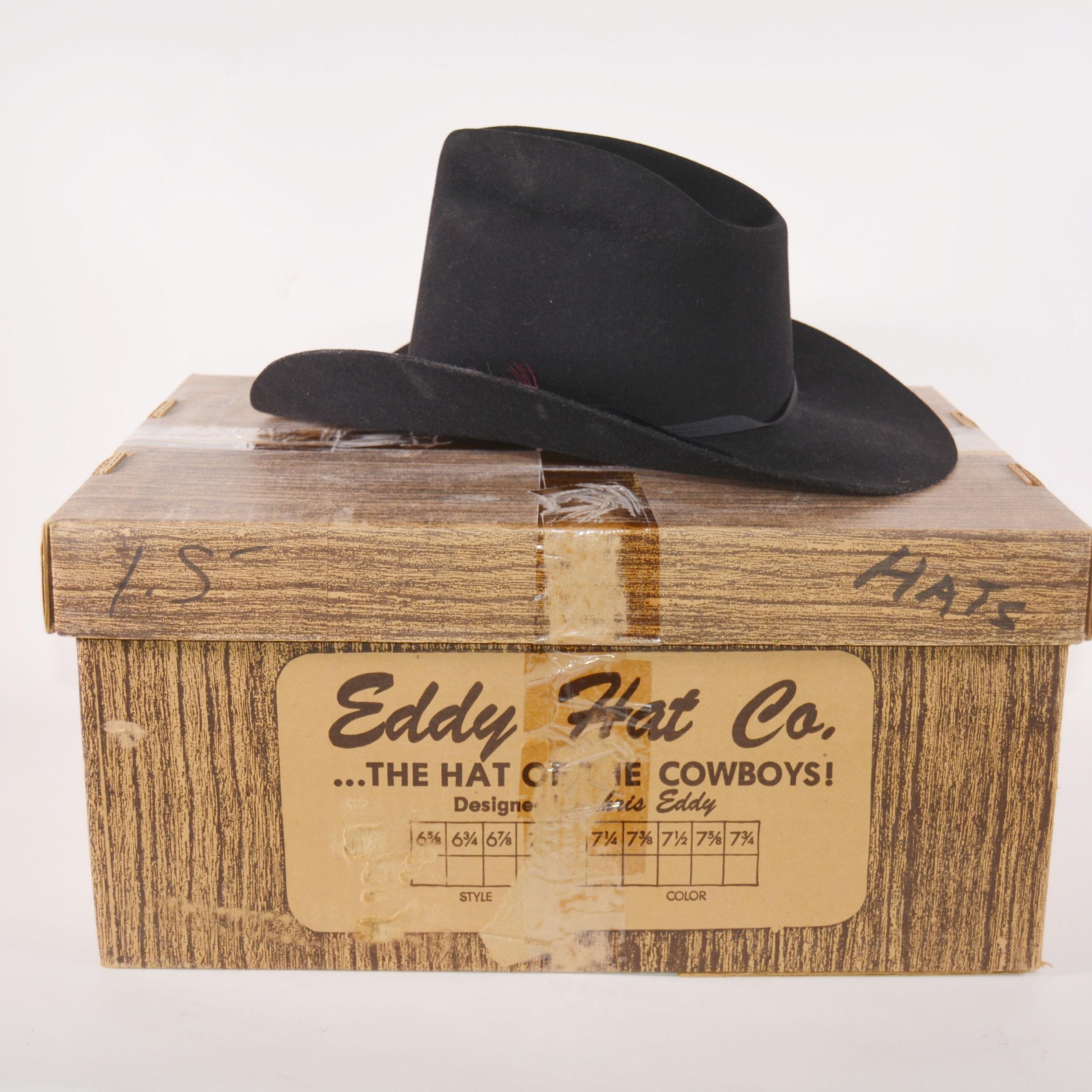 Ranch Western Wear Black Felt Blend Cowboy Hat