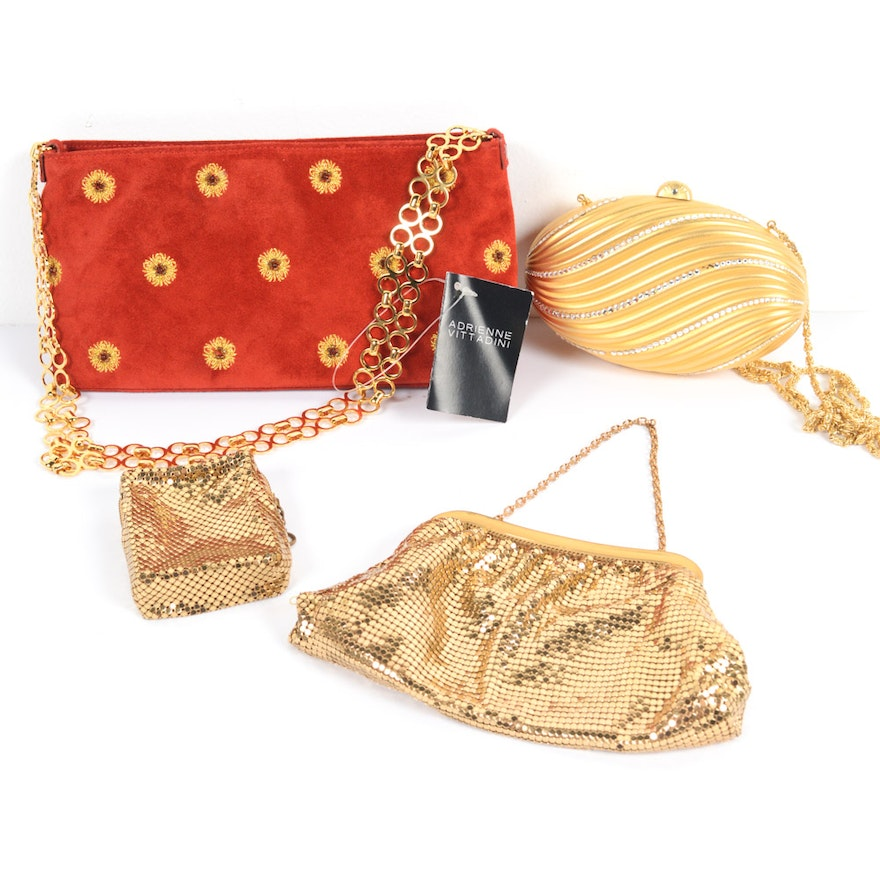 whiting and davis evening bags