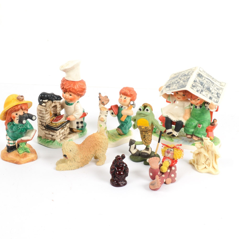 Collectible Figurines Featuring Goebel