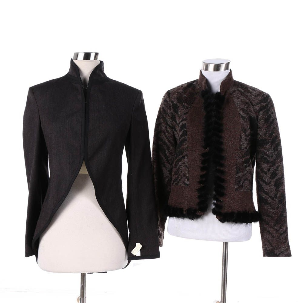 Women's Rag & Bone and Alberto Makali Jackets