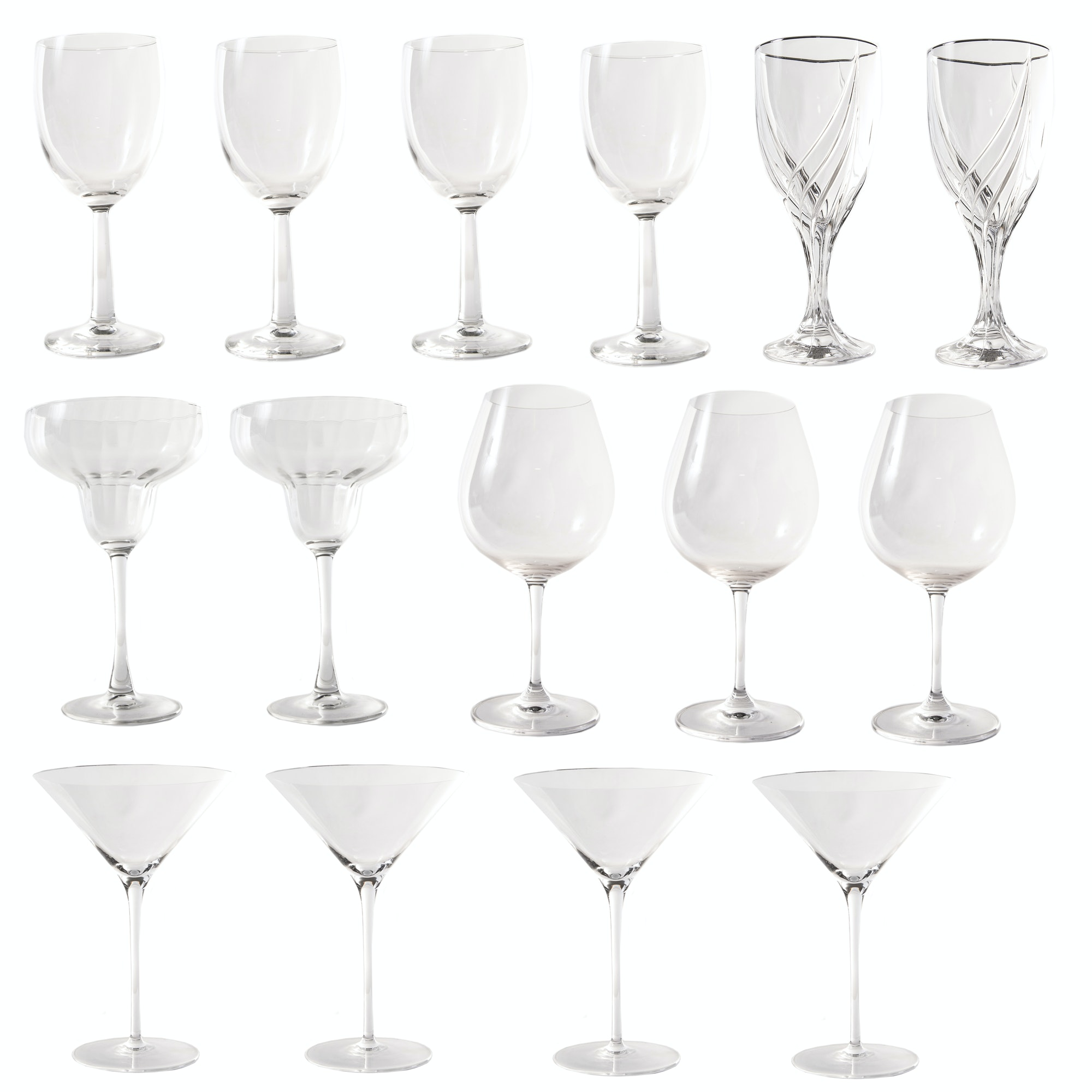 Collection of Stemware Featuring Riedel