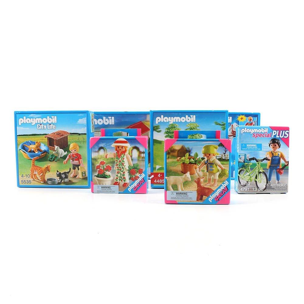 Playmobil Animal and Work Themed Play Sets and Figures
