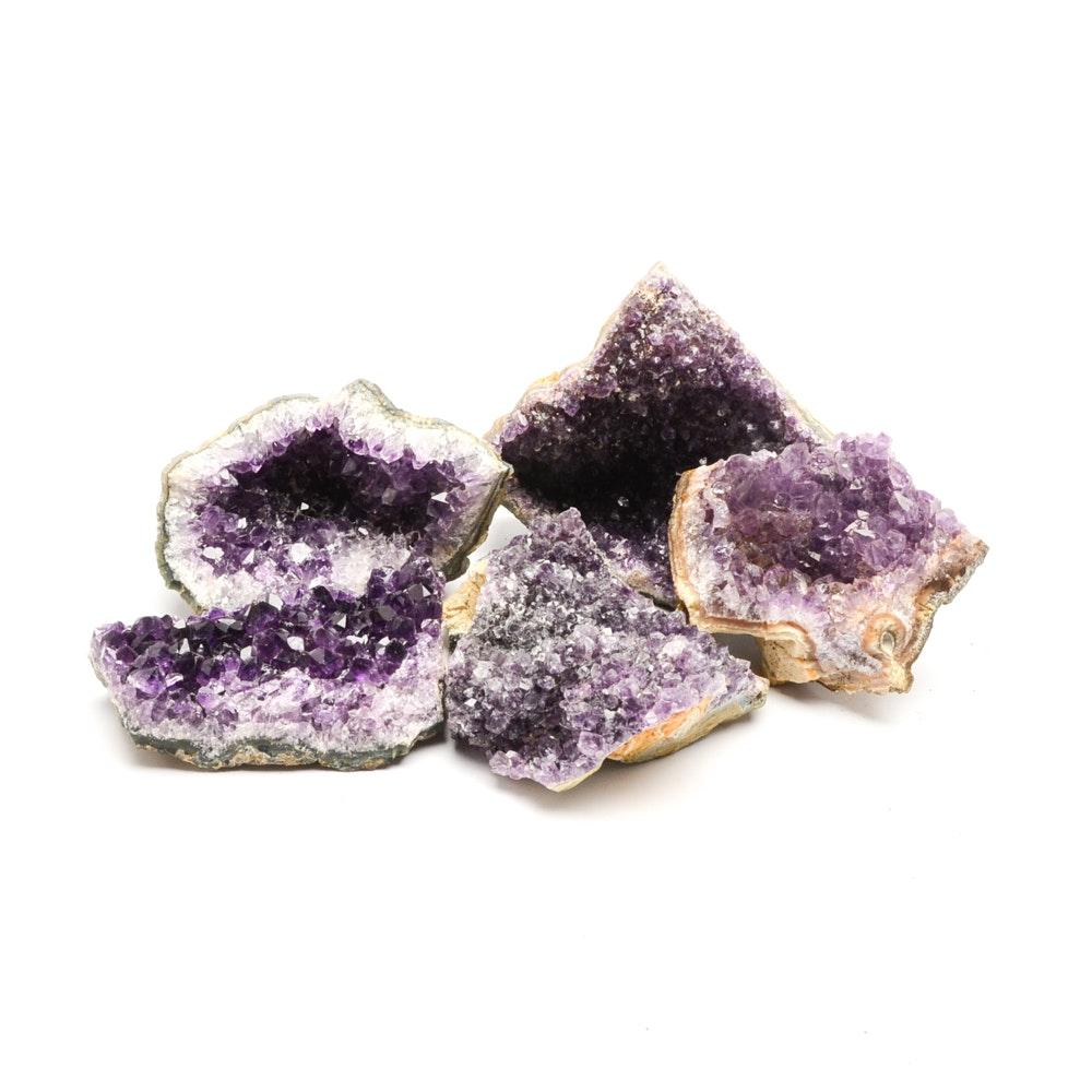 Amethyst Quartz Specimens
