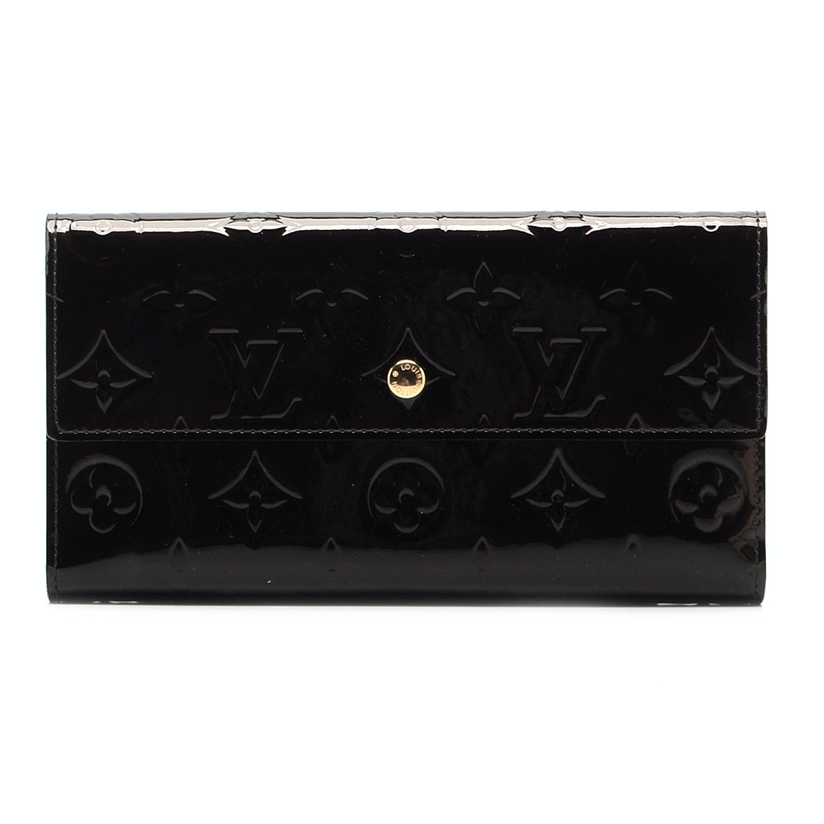 Louis Vuitton of Paris Vernis Amarante Wallet