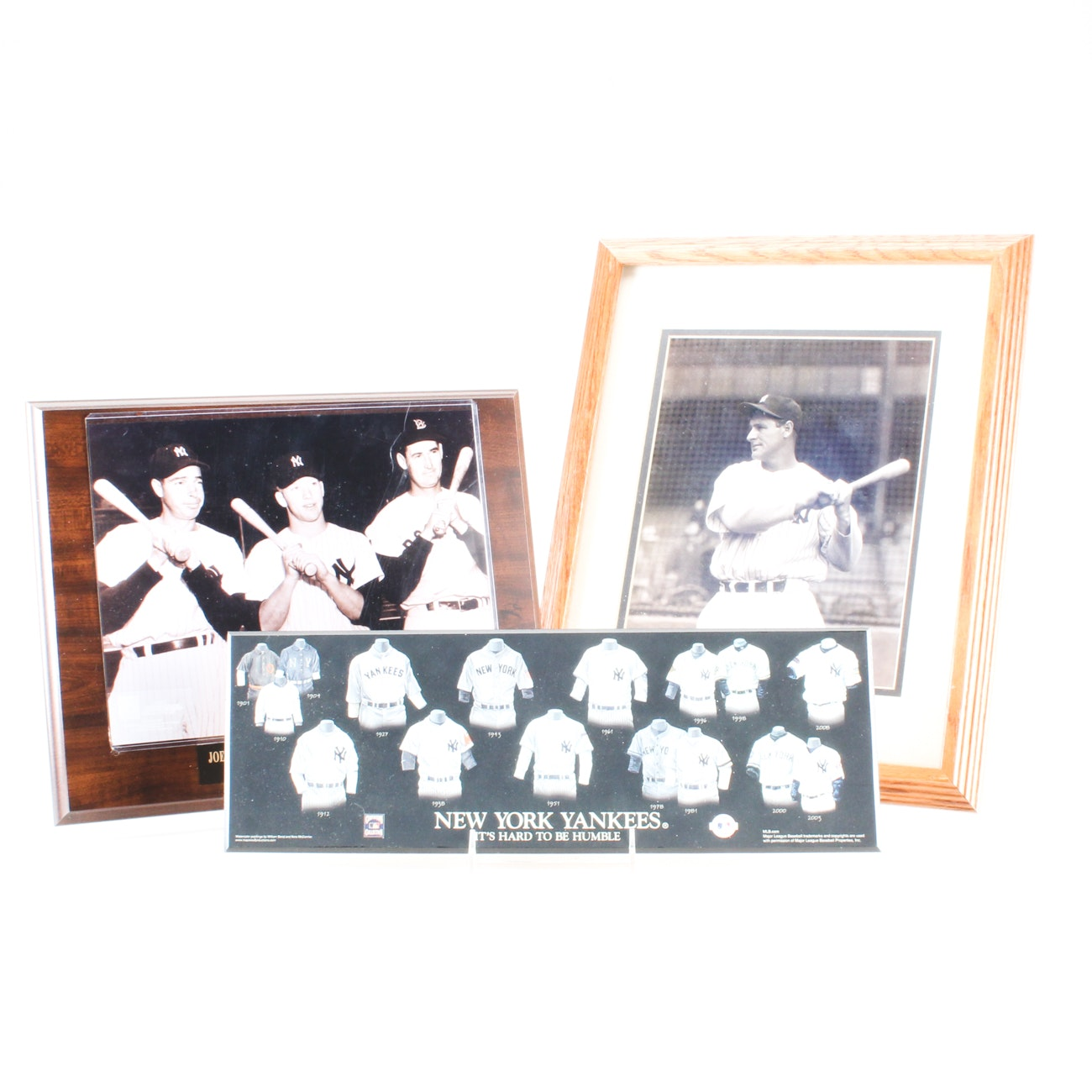 New York Yankees Collectibles Including Mantle, Gehrig and More