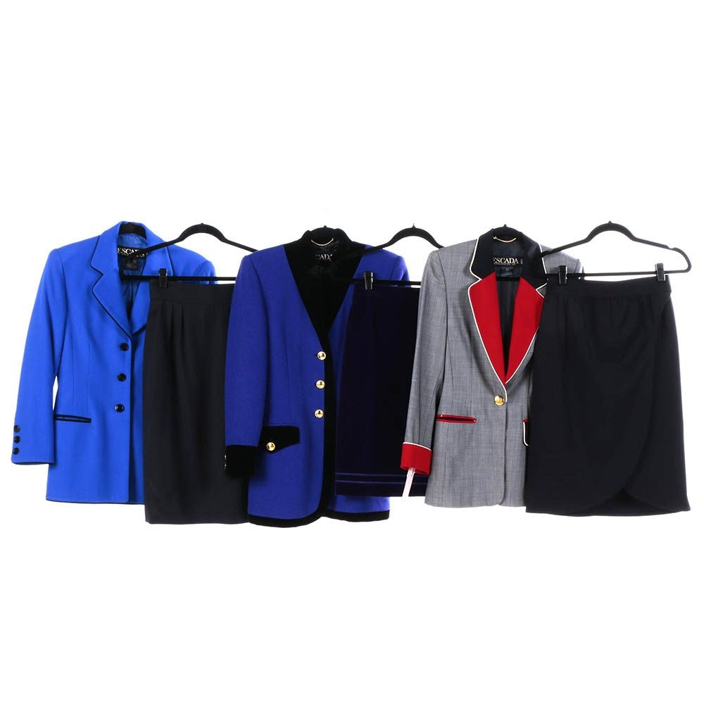 Women's Escada by Margaretha Ley Skirt Suits