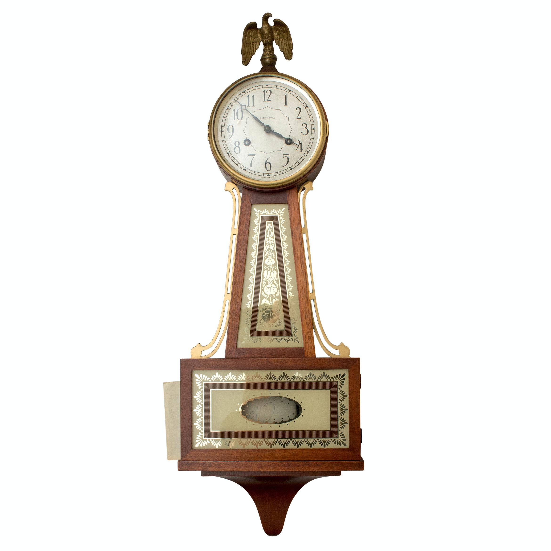 "Seth Thomas ""Brookfield"" Banjo Pendulum Clock"