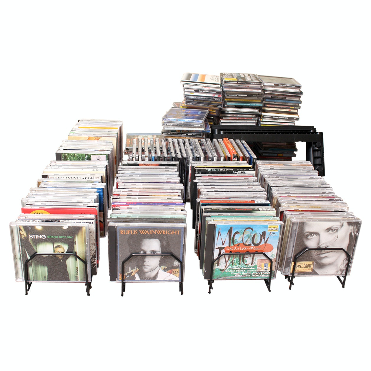 More Than 250 Compact Discs Including Rock, Jazz and Classical Music