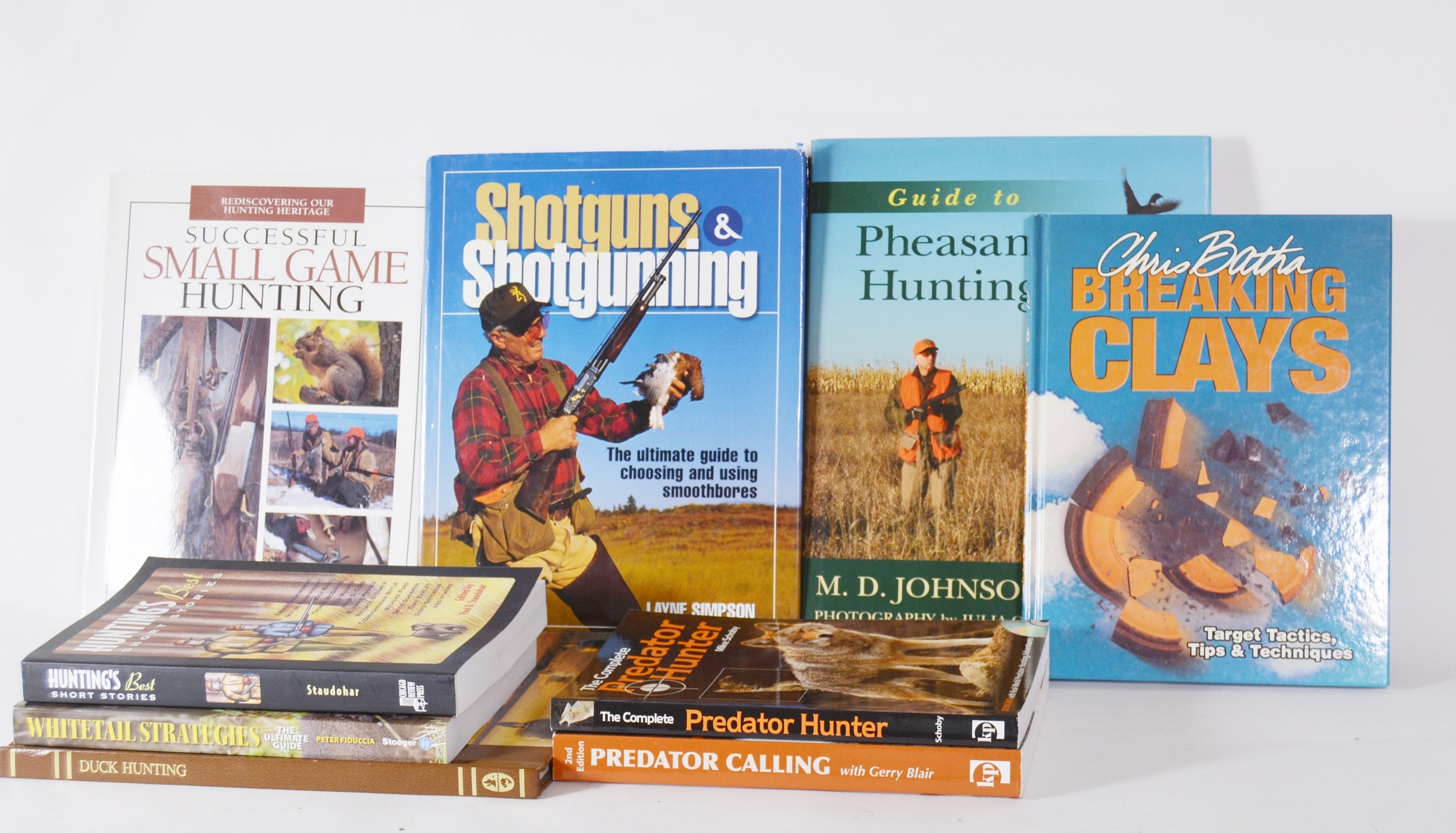 Collection of Hunting Books
