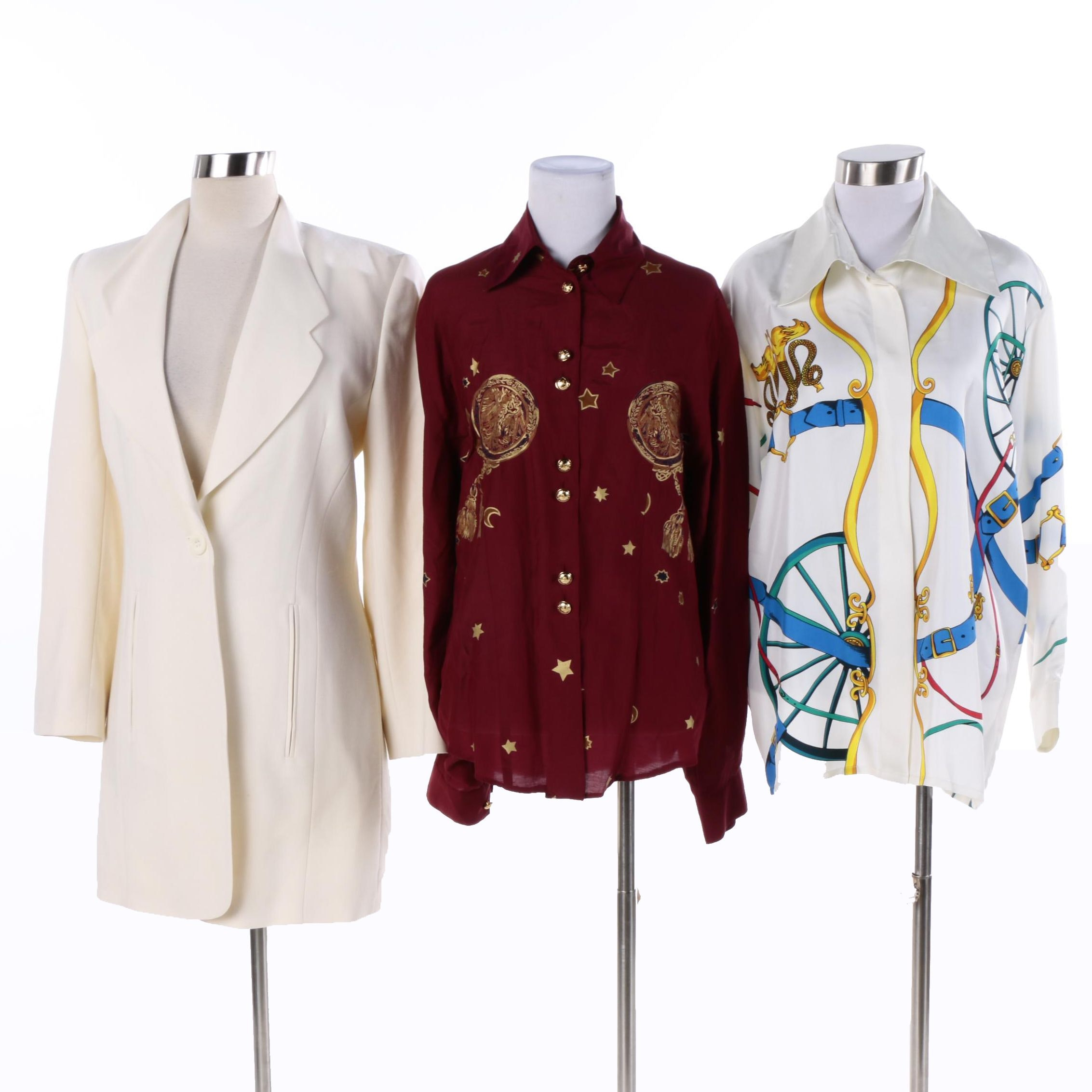 Women's Vintage Laurèl Blouses and Blazer