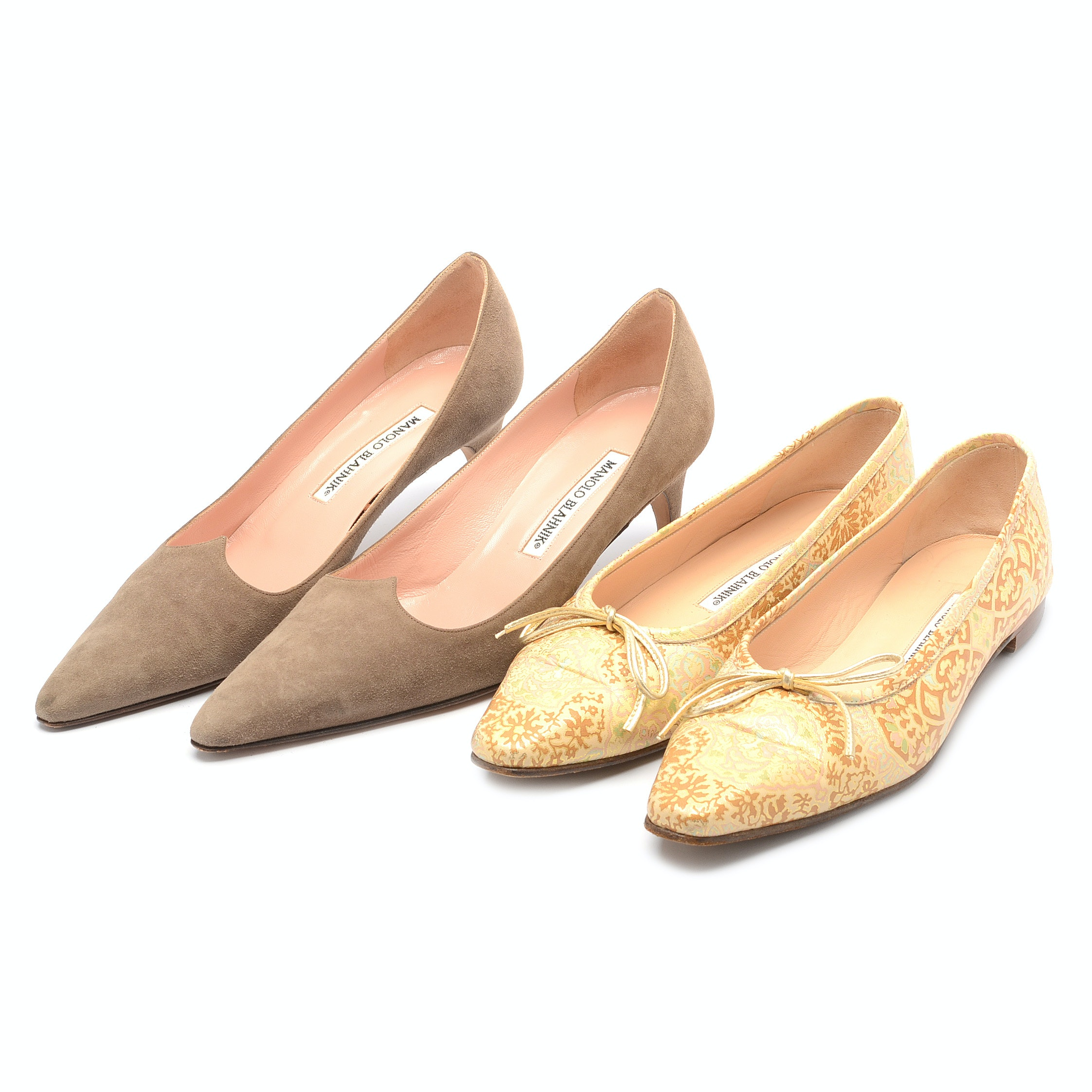 Manolo Blahnik Flats and Pumps