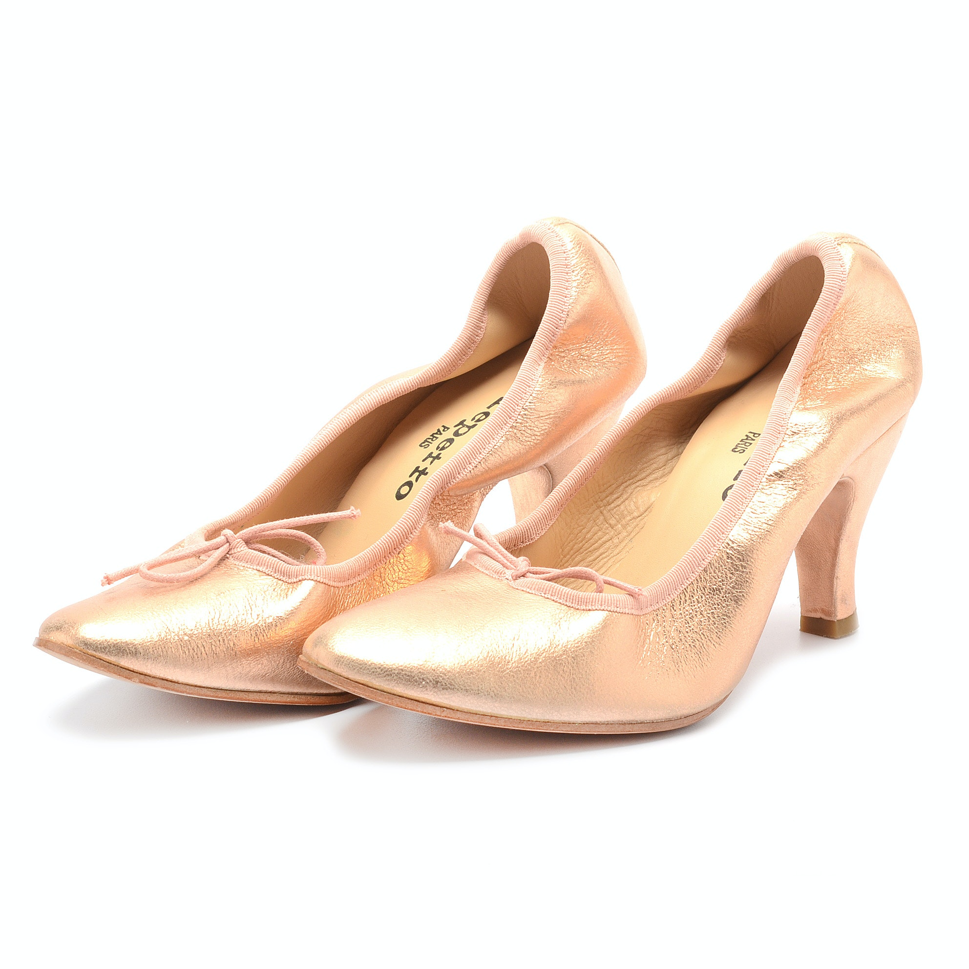 Repetto of Paris Patent Leather Heels