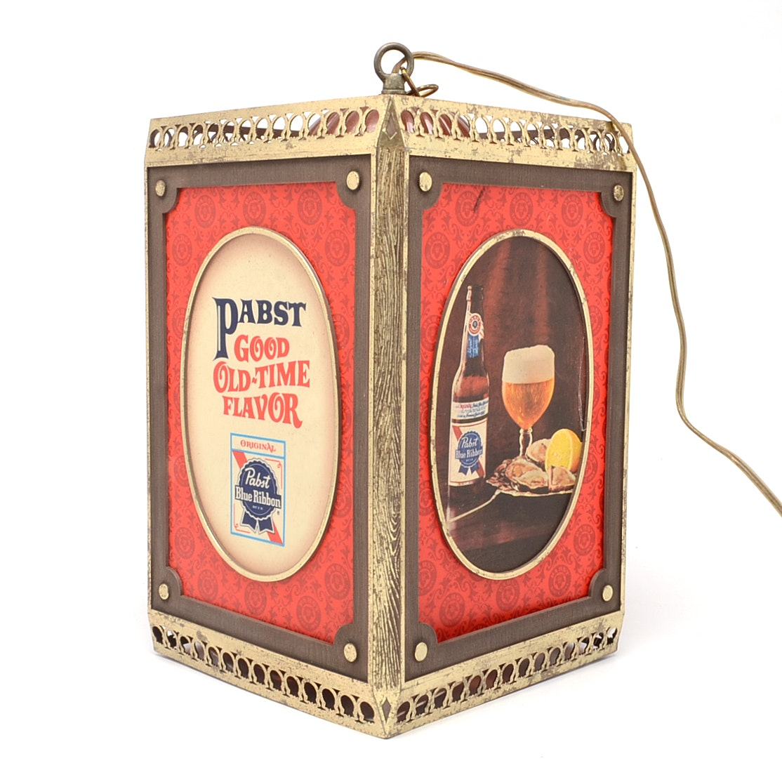 Pabst Beer Hanging Light