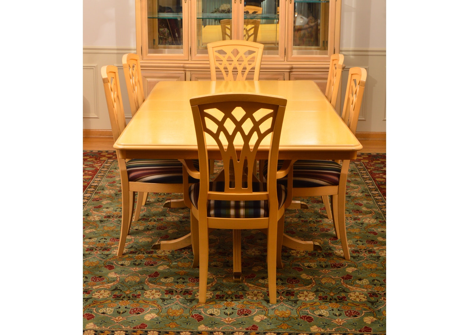 Vintage Dining Set by Bernhardt