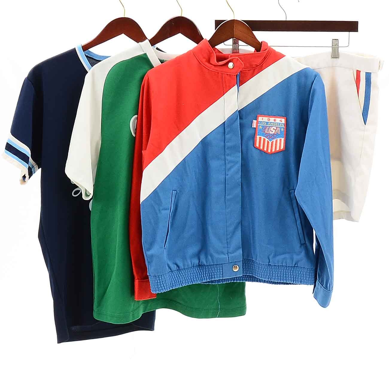 Vintage 1970s and 80s Athletic Apparel