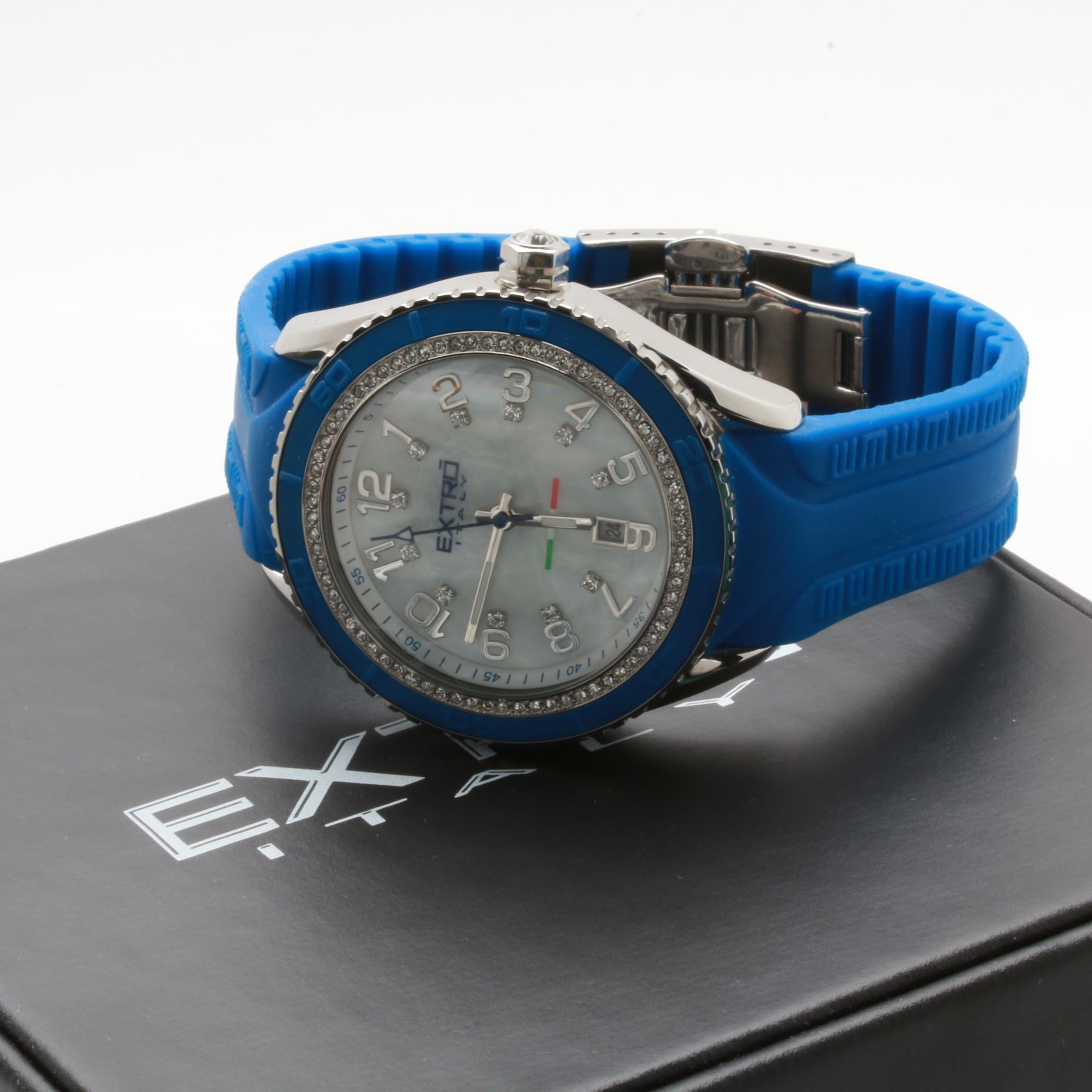 Extro Italy Stainless Steel Wristwatch