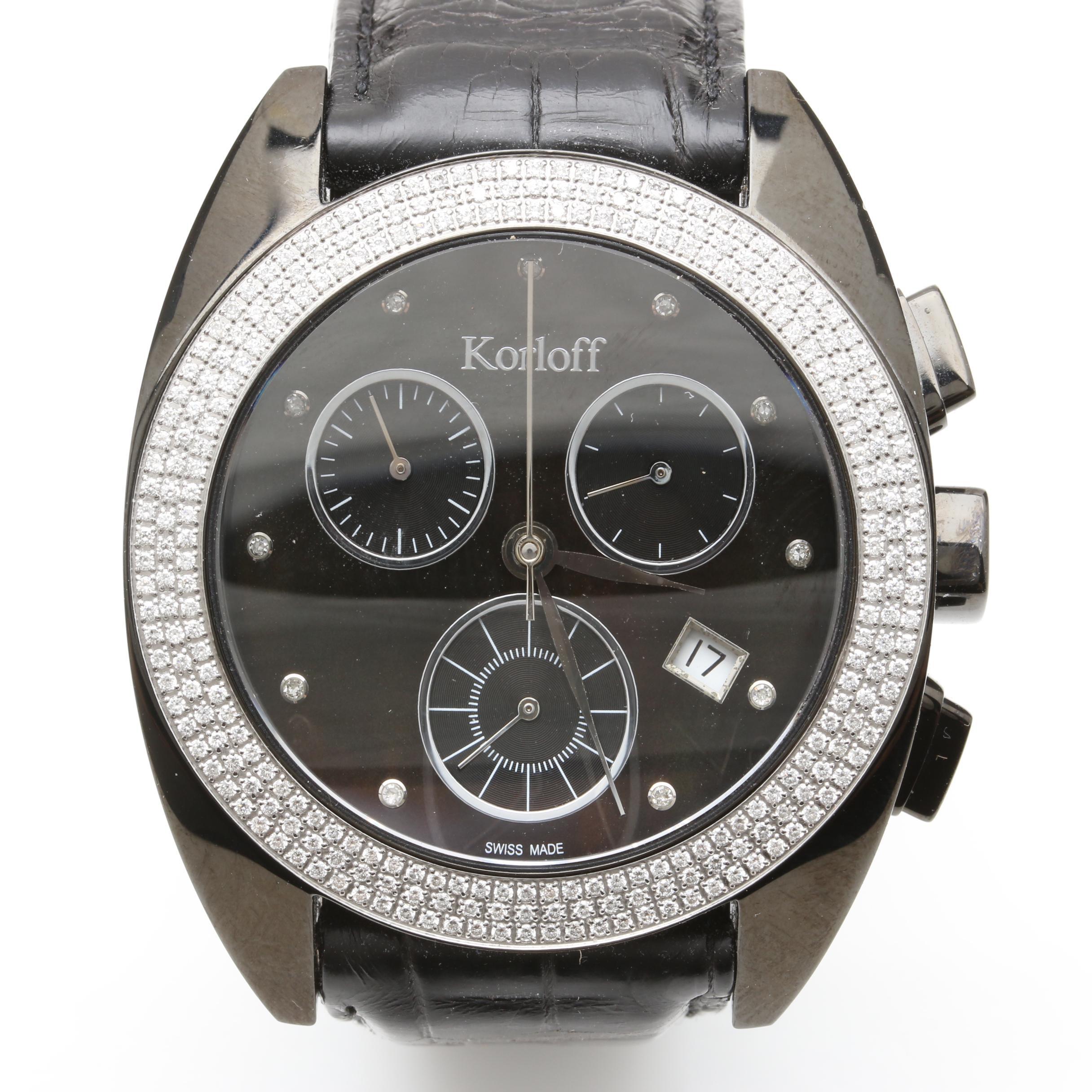 "Korloff ""K20 Collection"" Diamond Wristwatch"