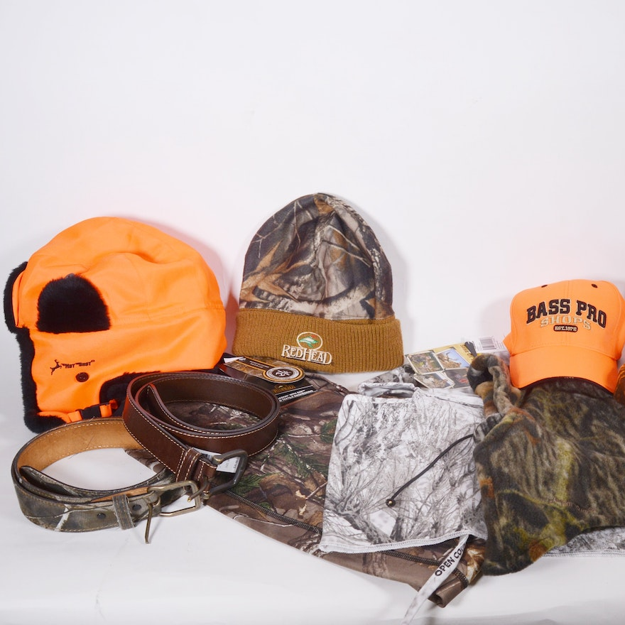 ce53ab9a60828 Men's Hunting Gloves, Face Masks, Hats and Belts : EBTH