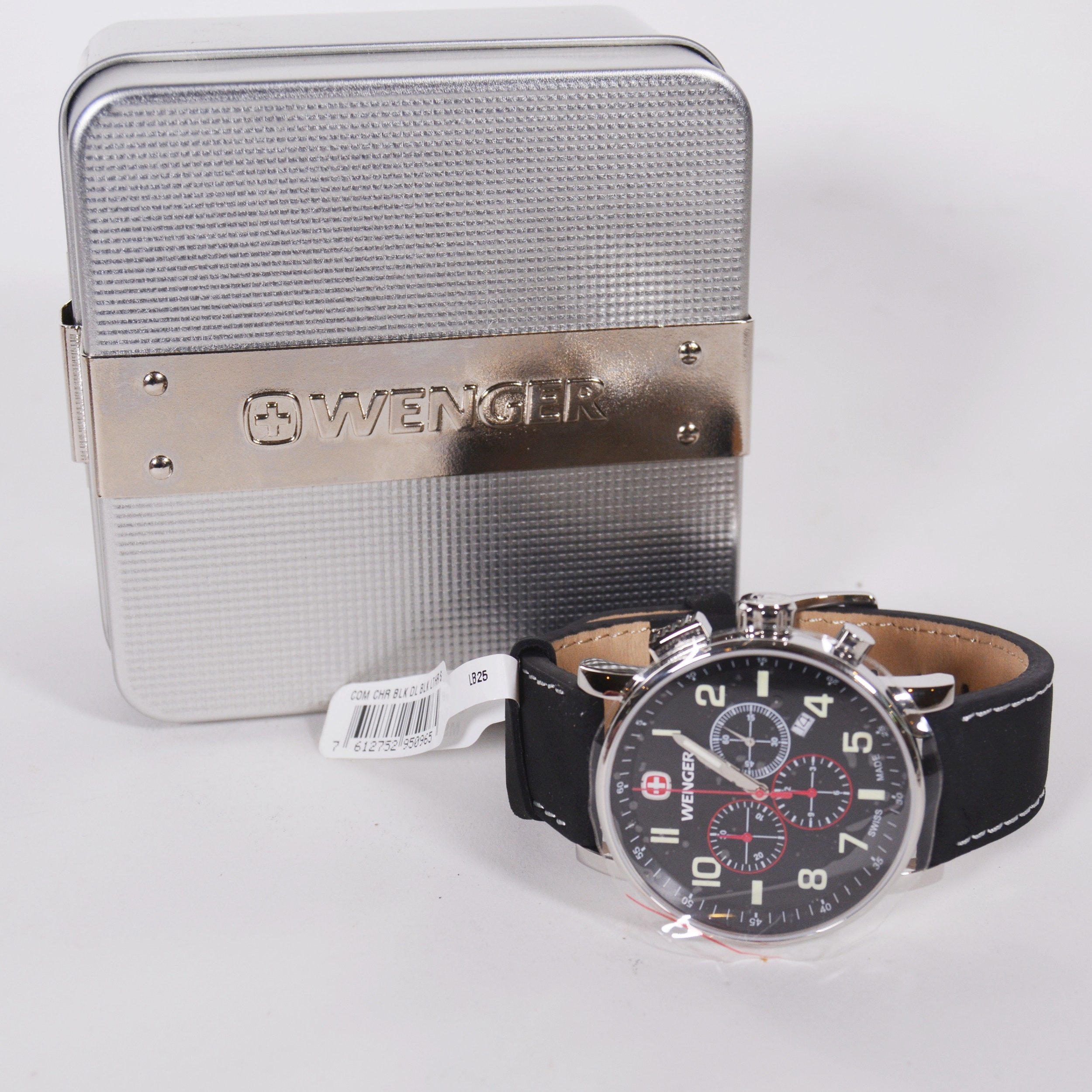 Wenger Chronograph Stainless Steel Wristwatch