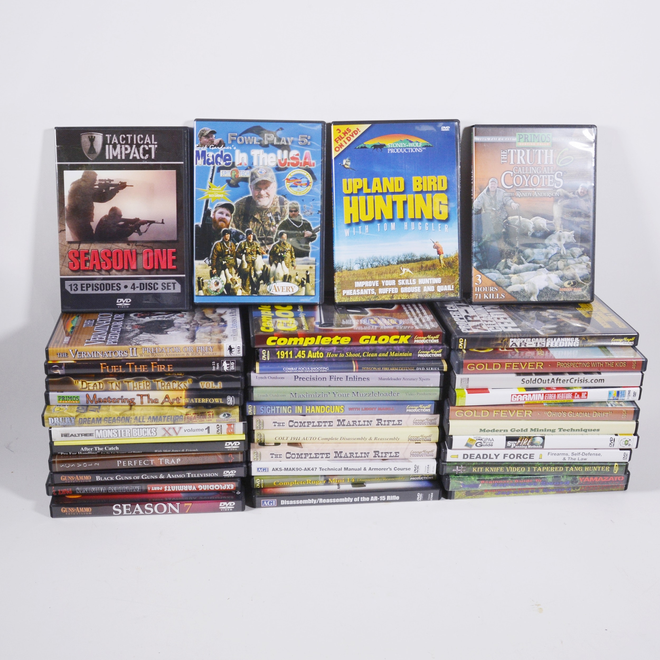 Large Collection of Action/Drama  DVDs