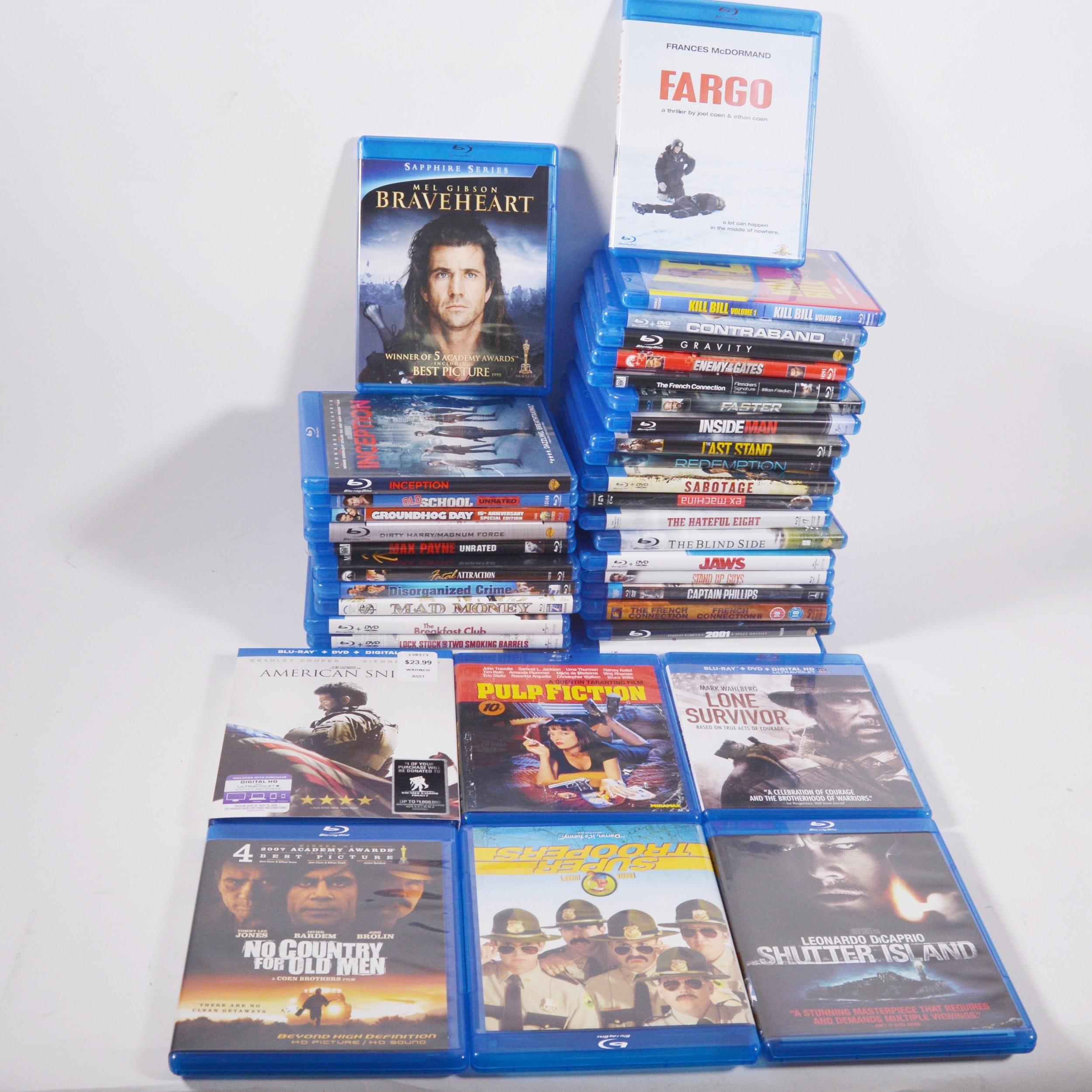 Thirty-Nine Blu Ray Disc Movies