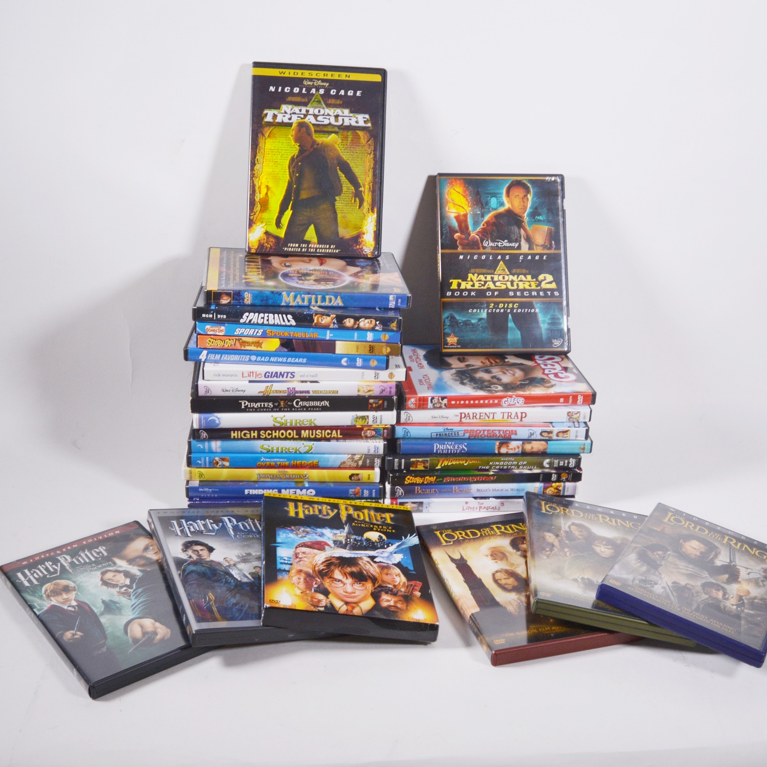Collection of  Disney and Other Movie DVDs