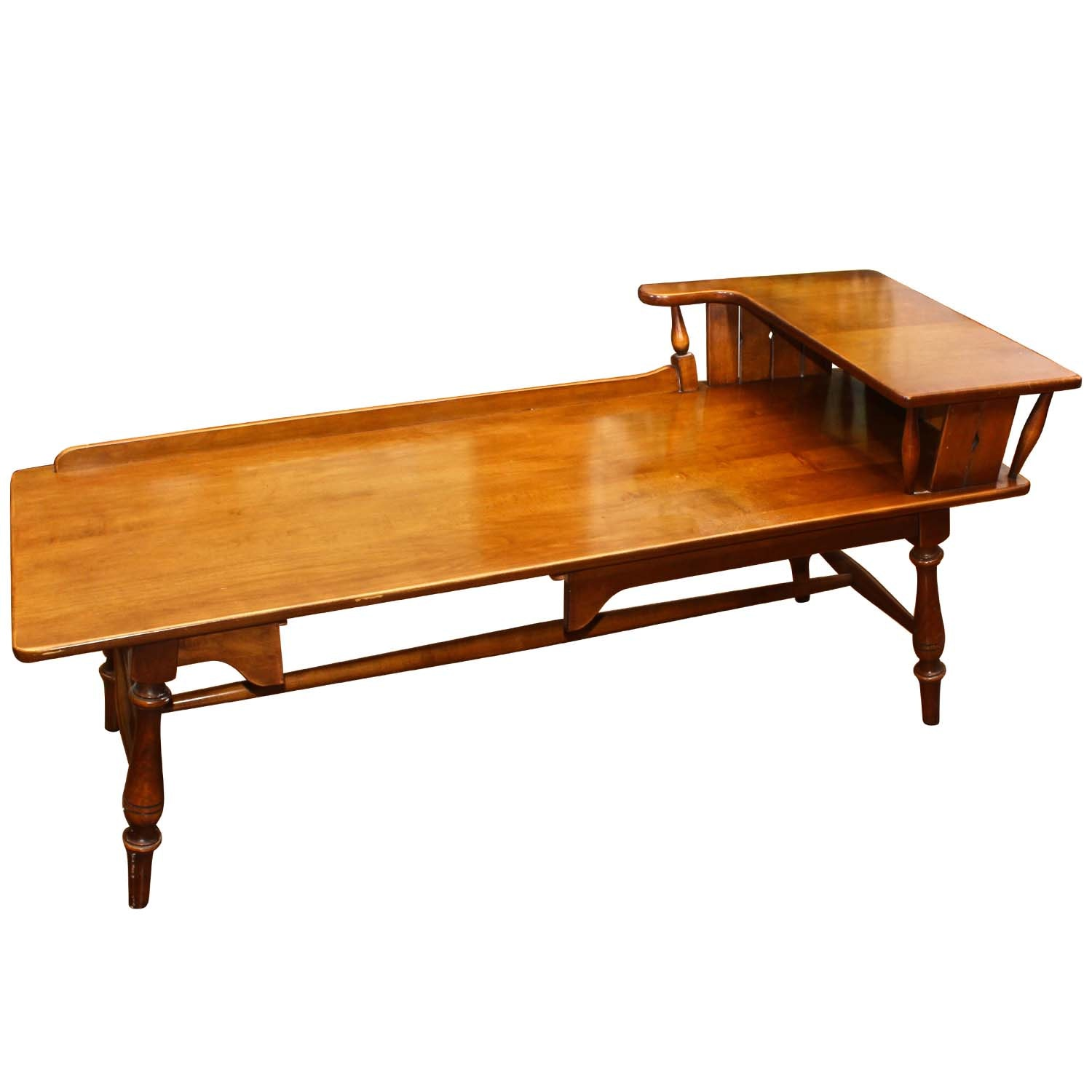Early American Style Maple Coffee Table