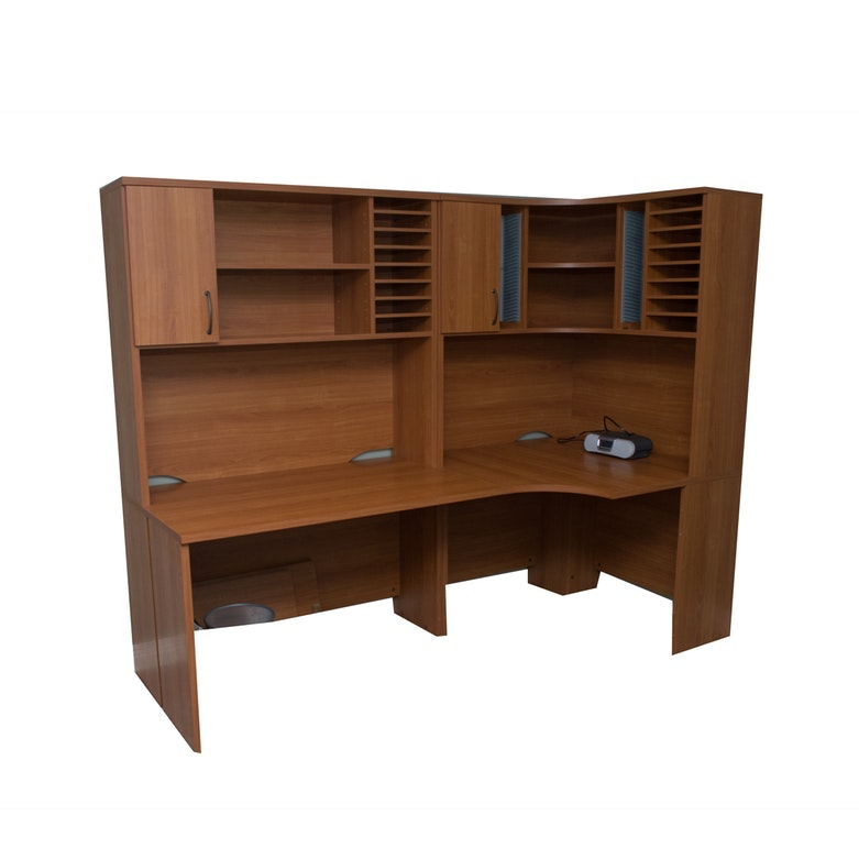 Tvilum-Scanbirk Contemporary Corner Desk Grouping