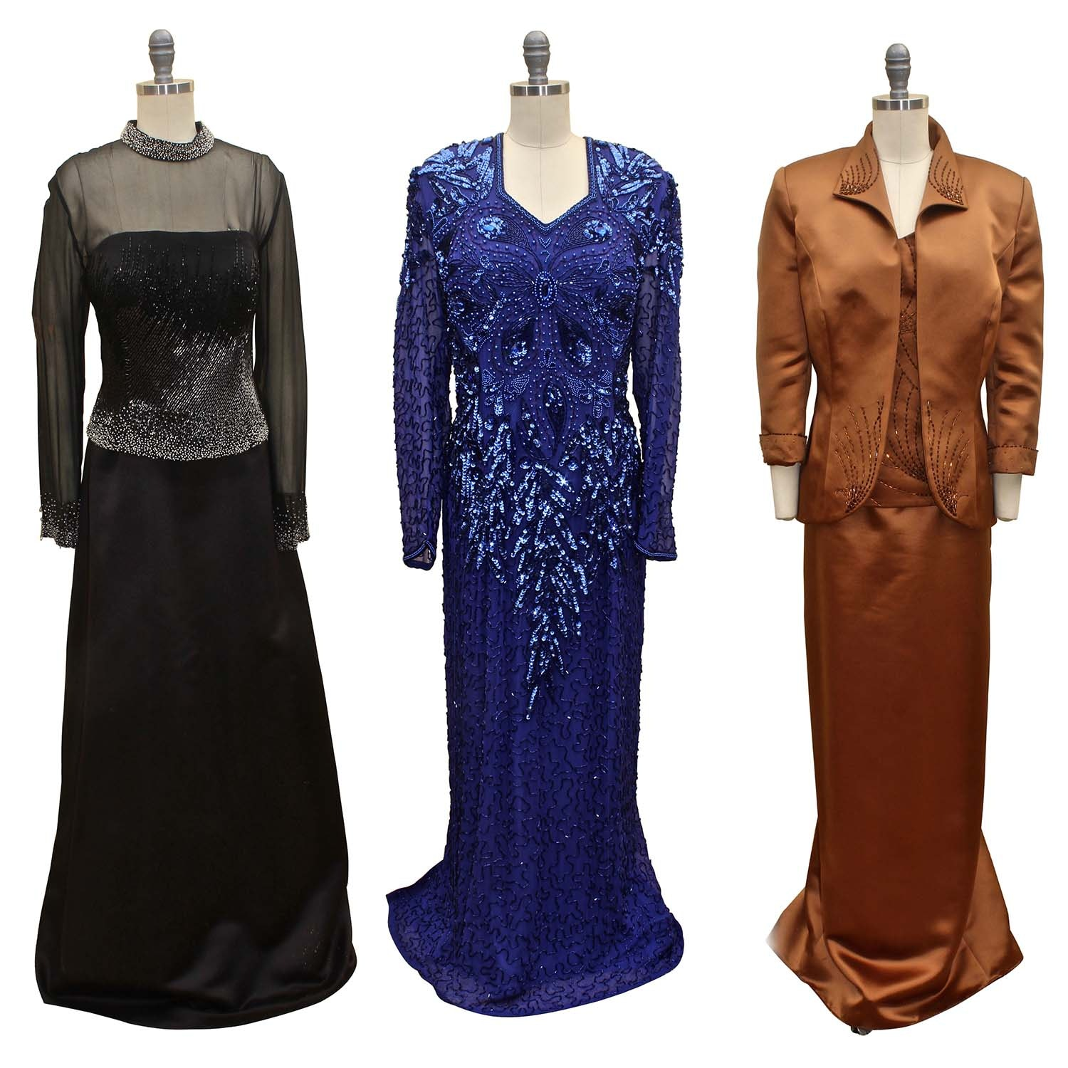 Women's Embellished Formal Dresses Including Haute Couture Obsessions
