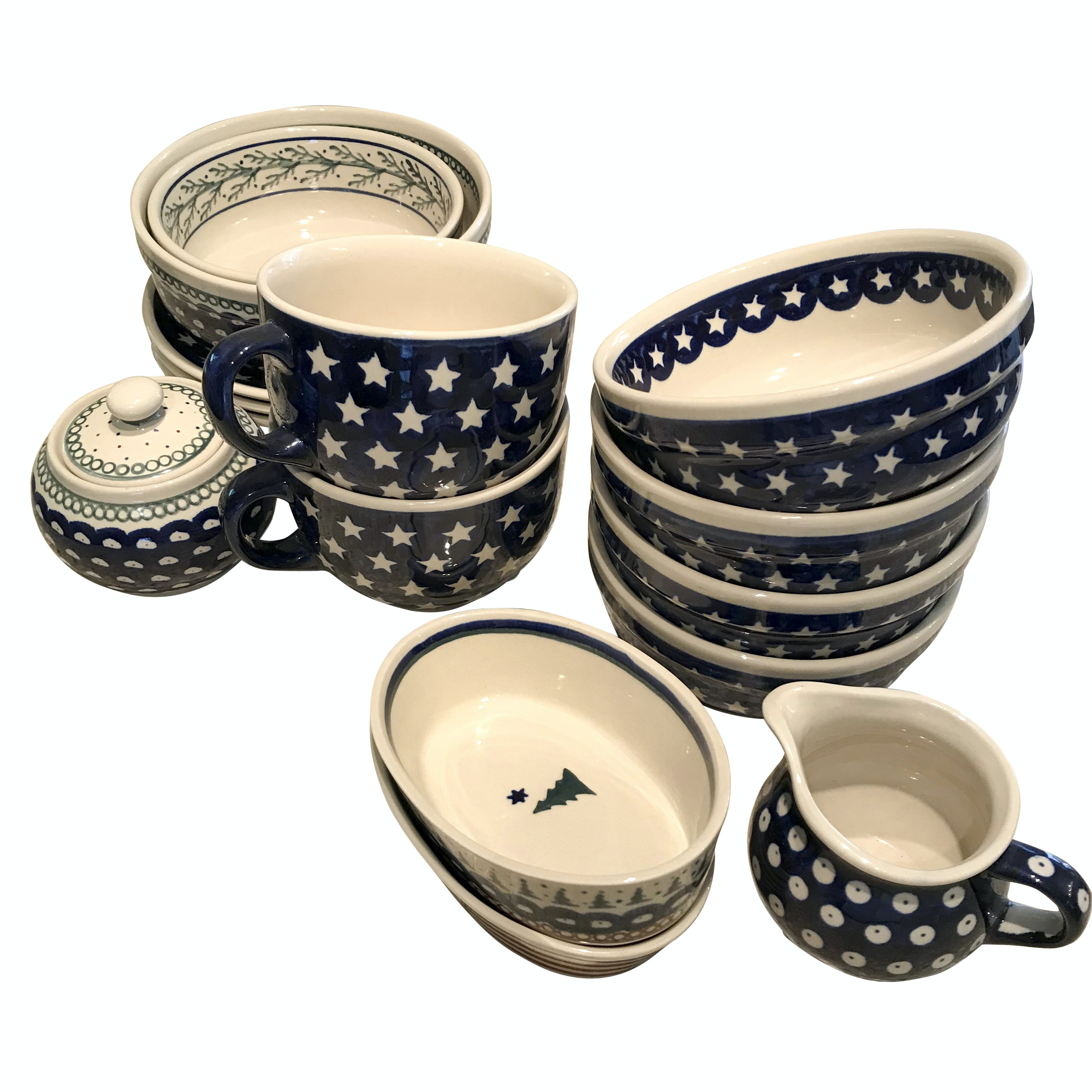 Boleslawiec Handpainted Polish Pottery