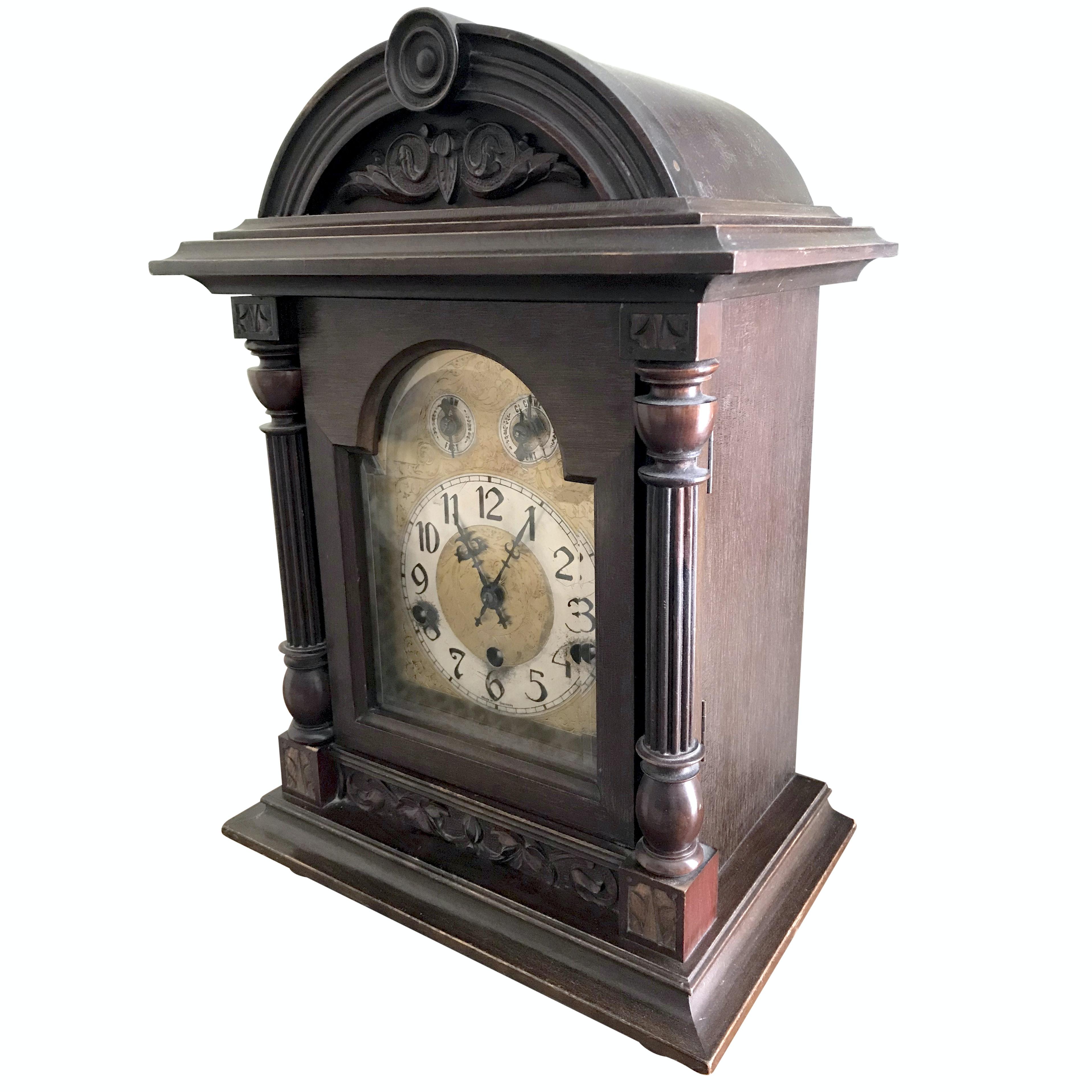 Antique Kienzle German Mantel Clock