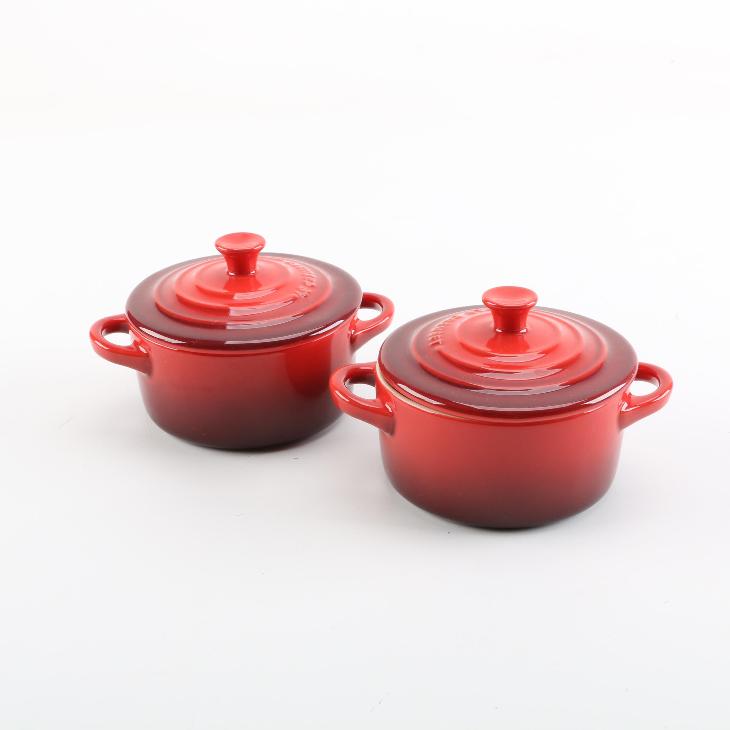 Le Creuset Mini Round Casserole Dishes