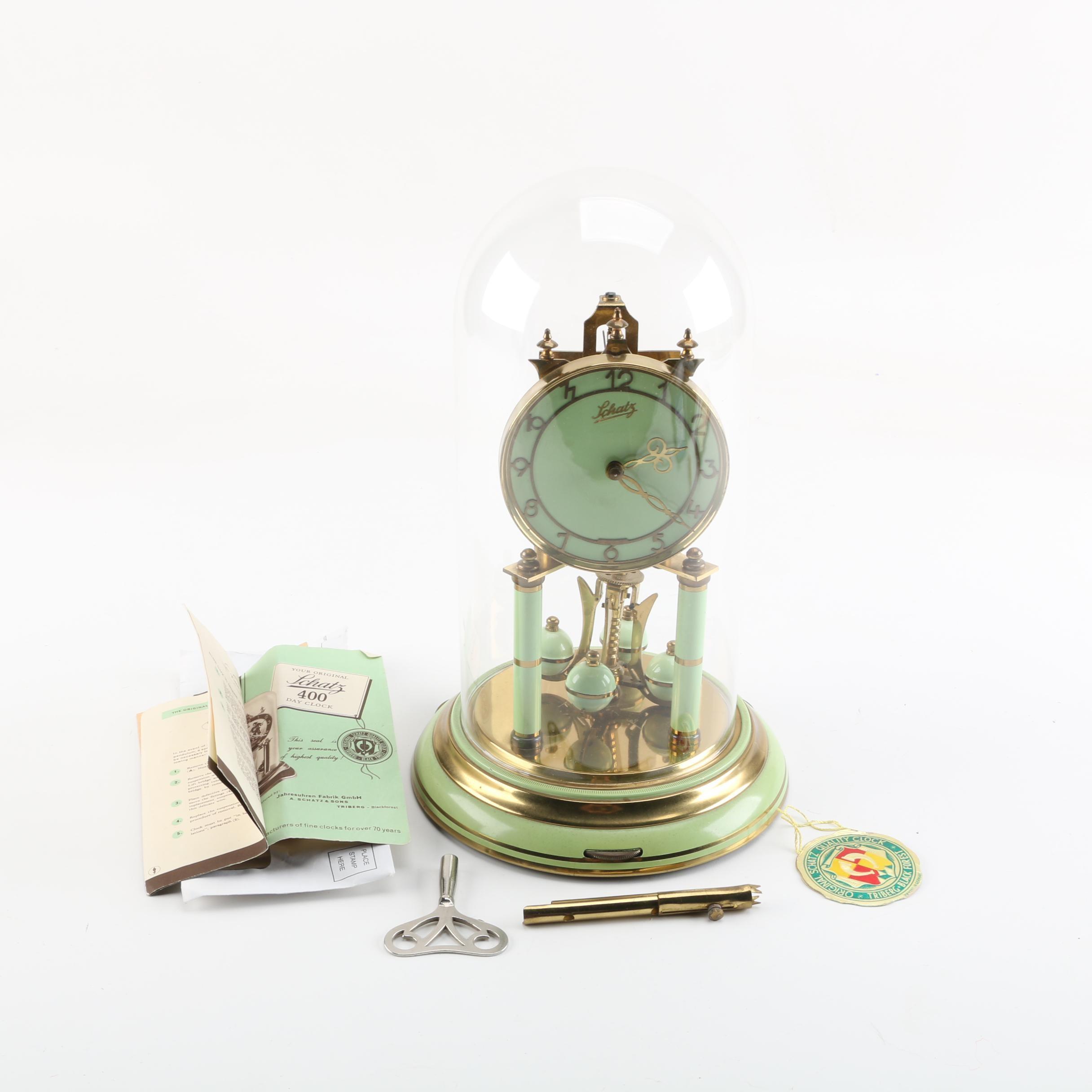 Schatz German Black Forest Anniversary Clock
