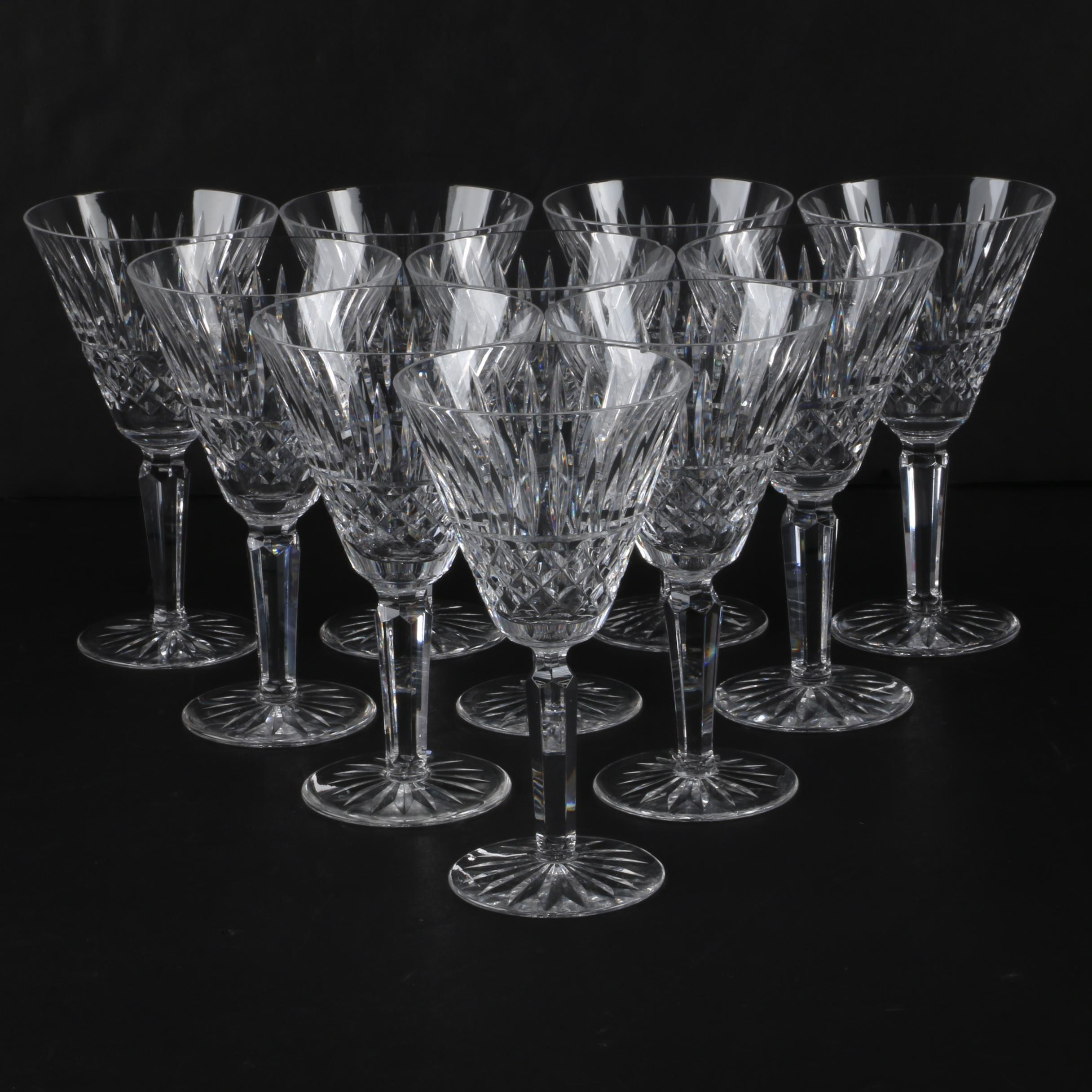 """Waterford Crystal """"Maeve"""" Goblets"""