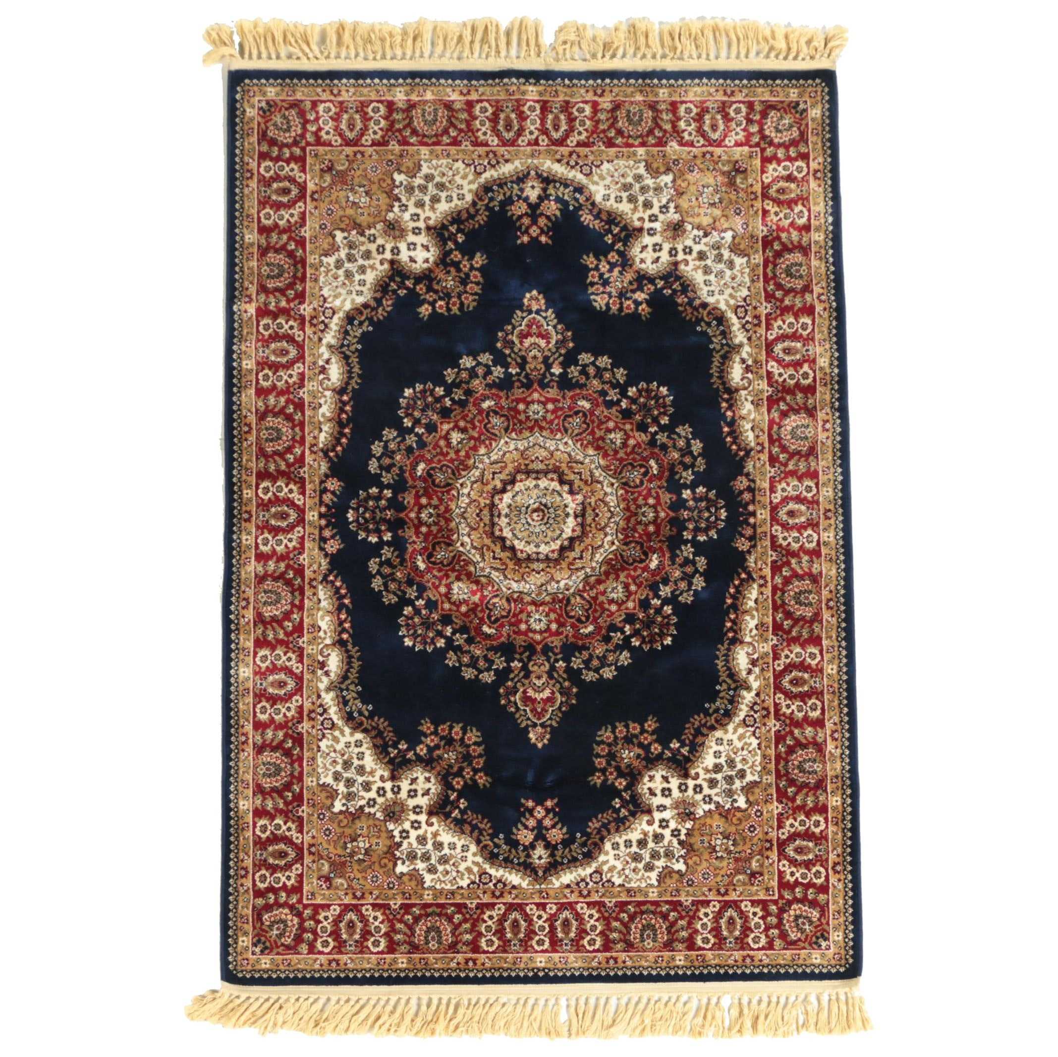 Power-Loomed Persian-Inspired Area Rug