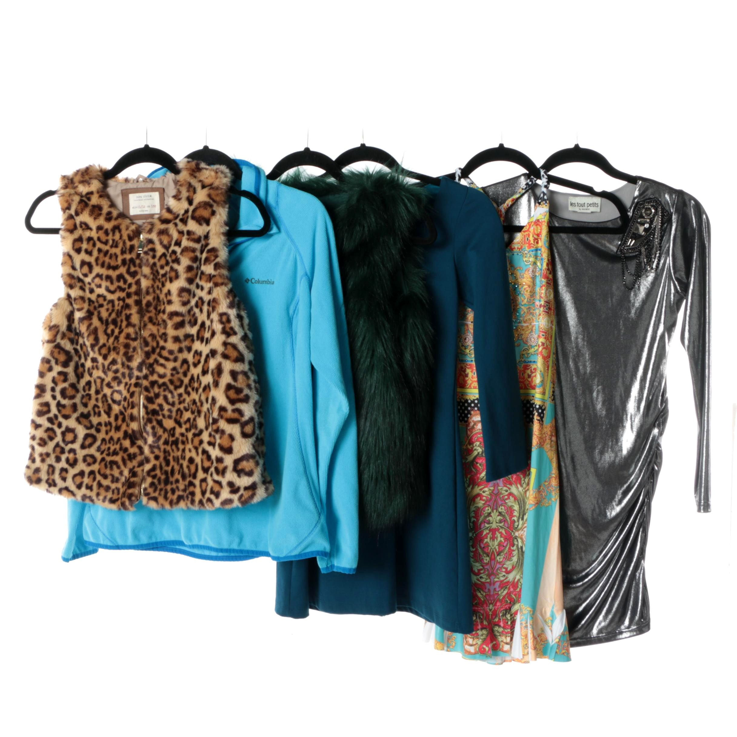 Girls' Outerwear and Dresses Including Zara Girls, Columbia and Sophie & Mia