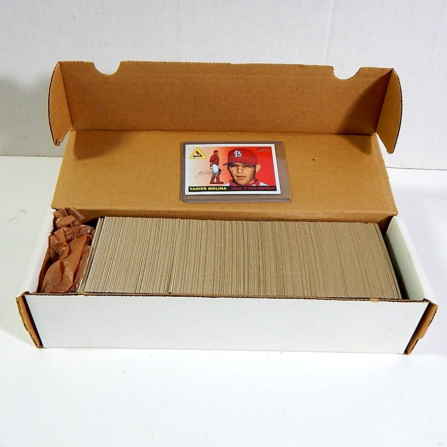 2004 Topps Heritage Baseball Card Set 1 To 385 Ebth