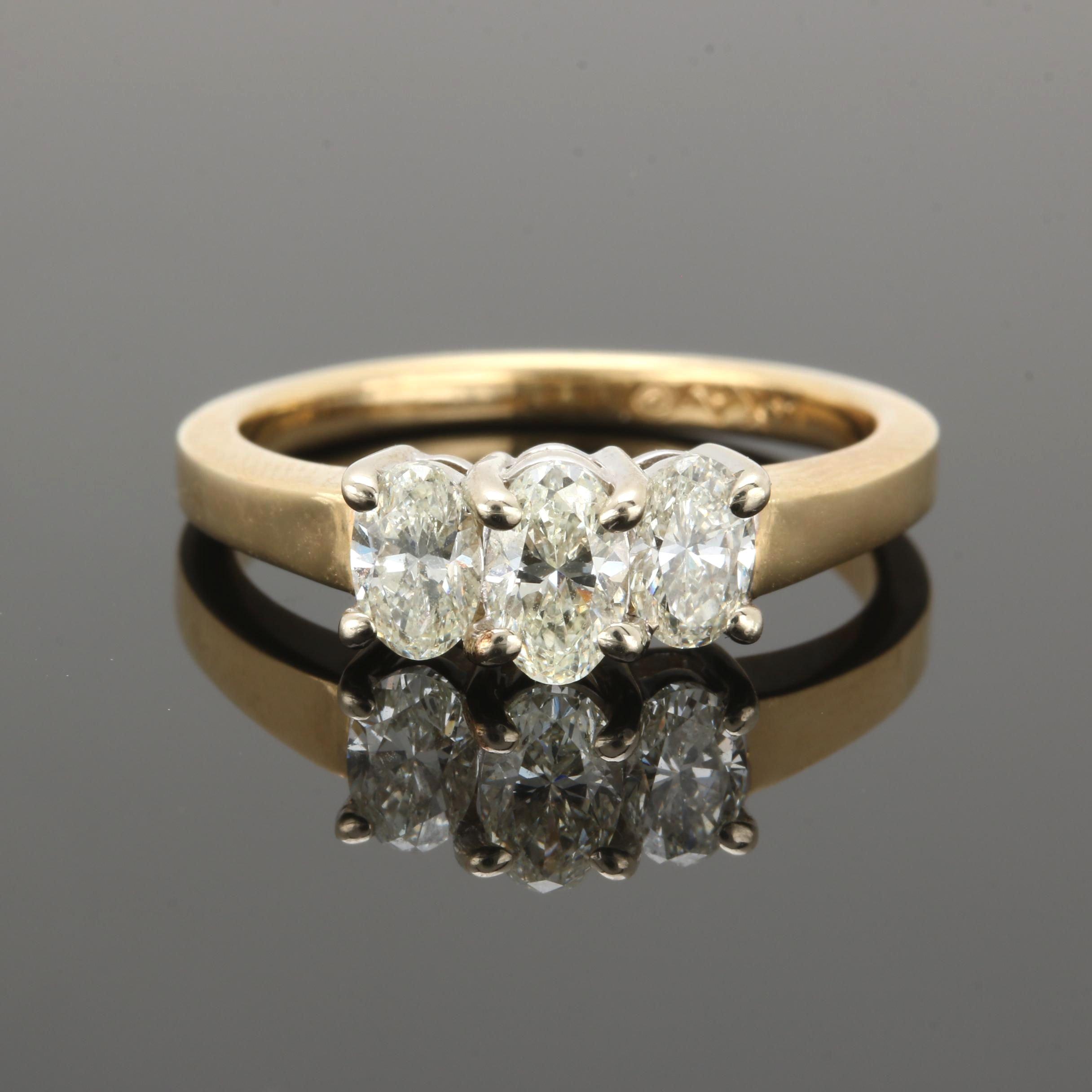 Alwand Vahan 14K Yellow Gold 0.95 CTW Diamond Ring
