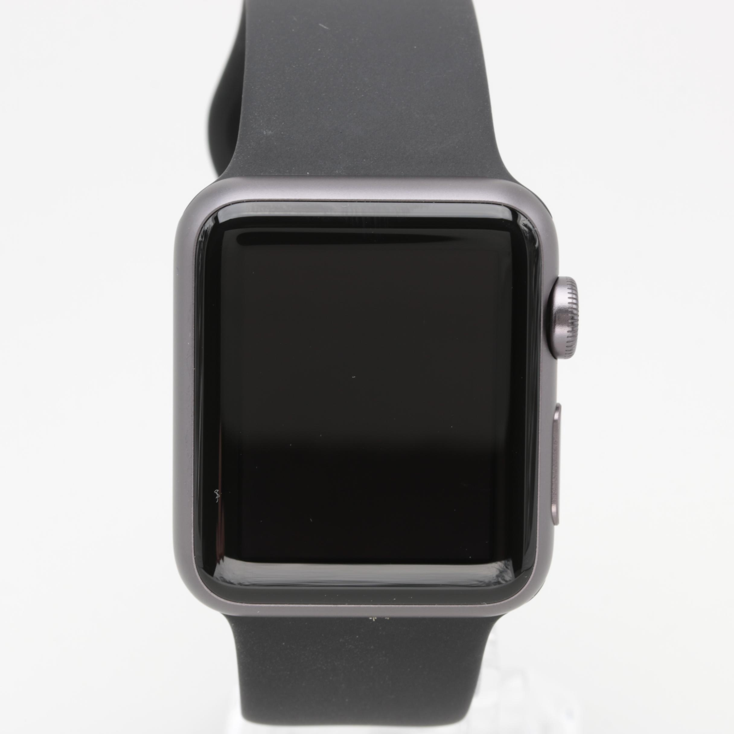 Apple Sport Black Wristwatch with Box and Charger