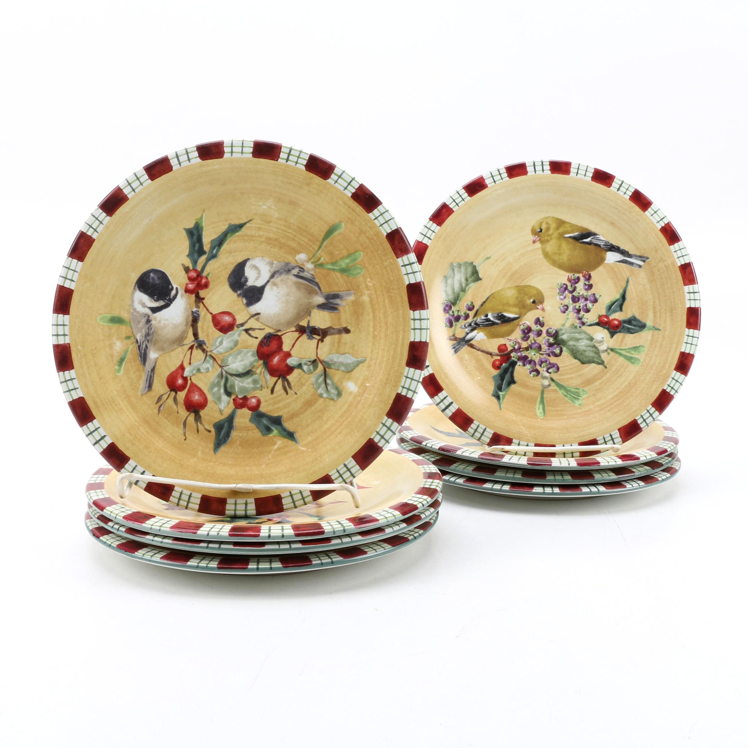 "Lenox ""Winter Greetings Everyday"" Plates"