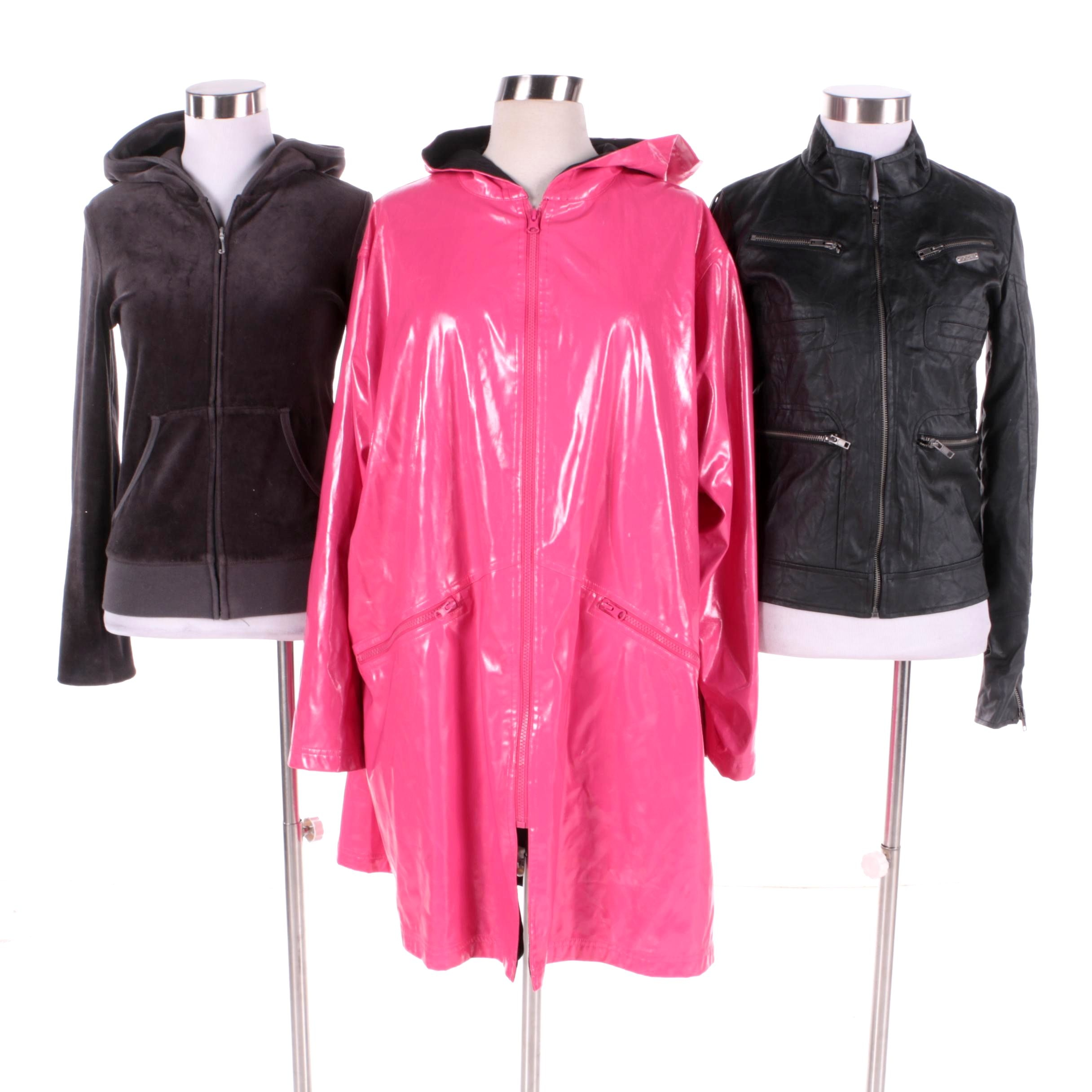 Women's Jackets and Raincoat Including Juicy Couture