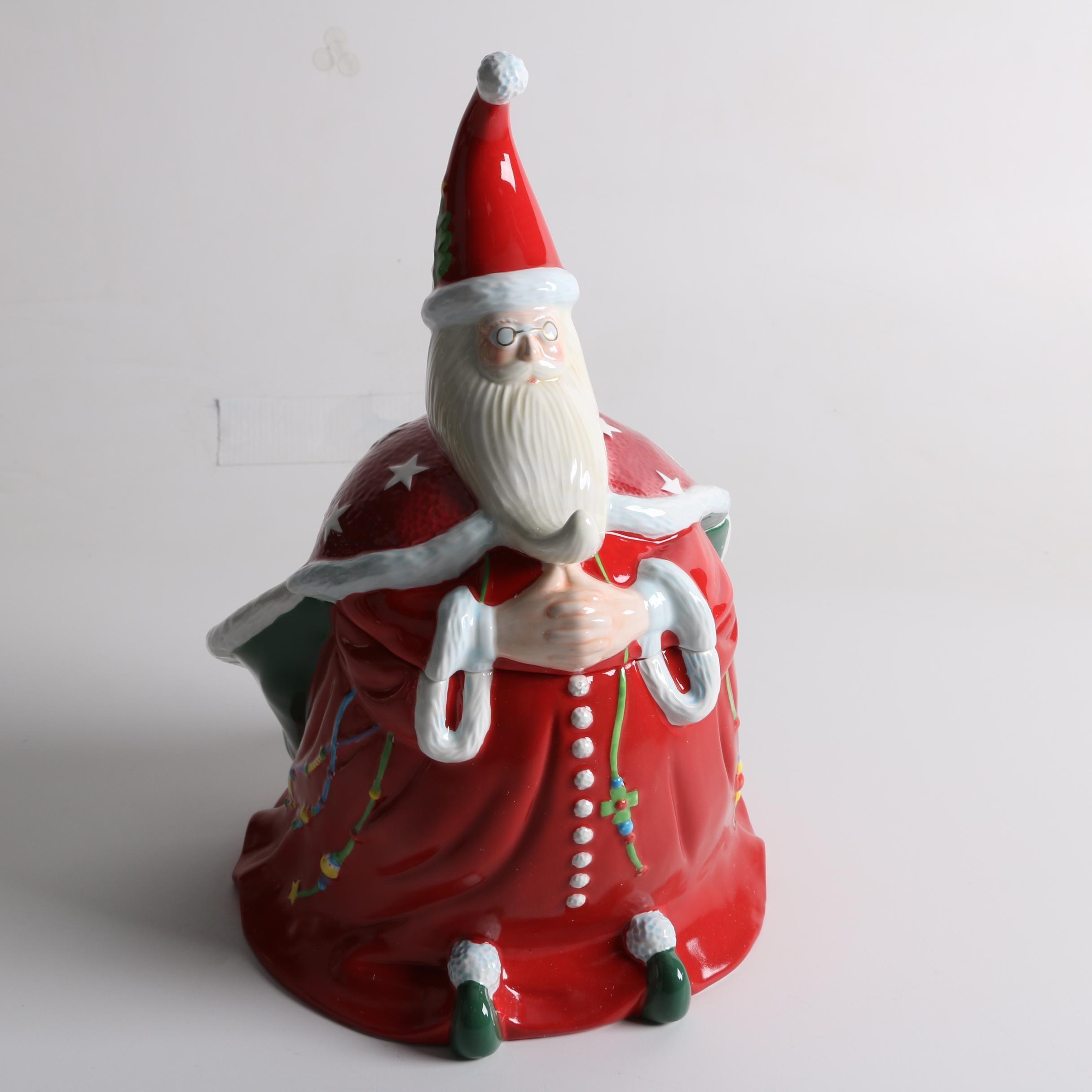 Mary Engelbreit Santa Claus Candy Jar