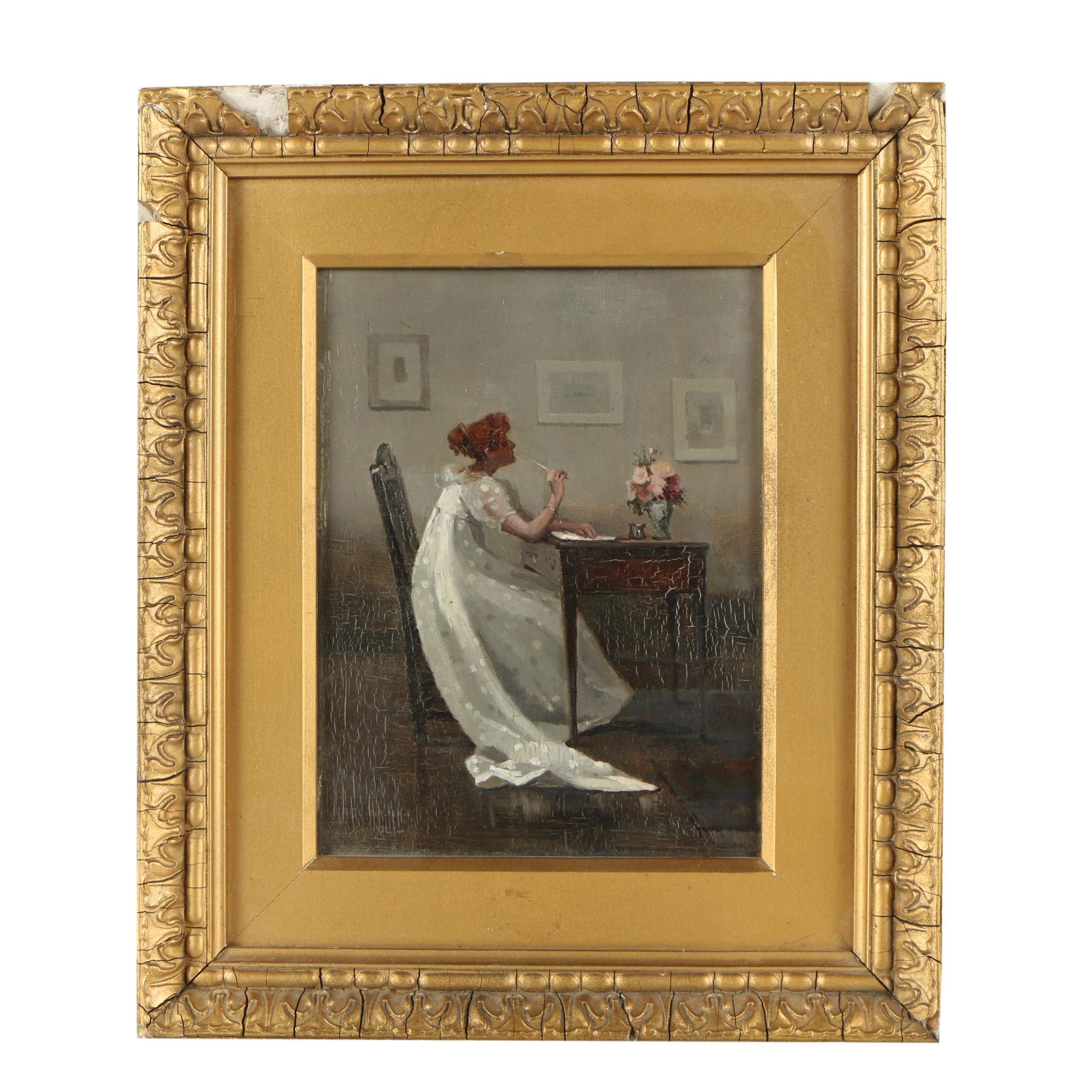 Maude Walker Oil Painting