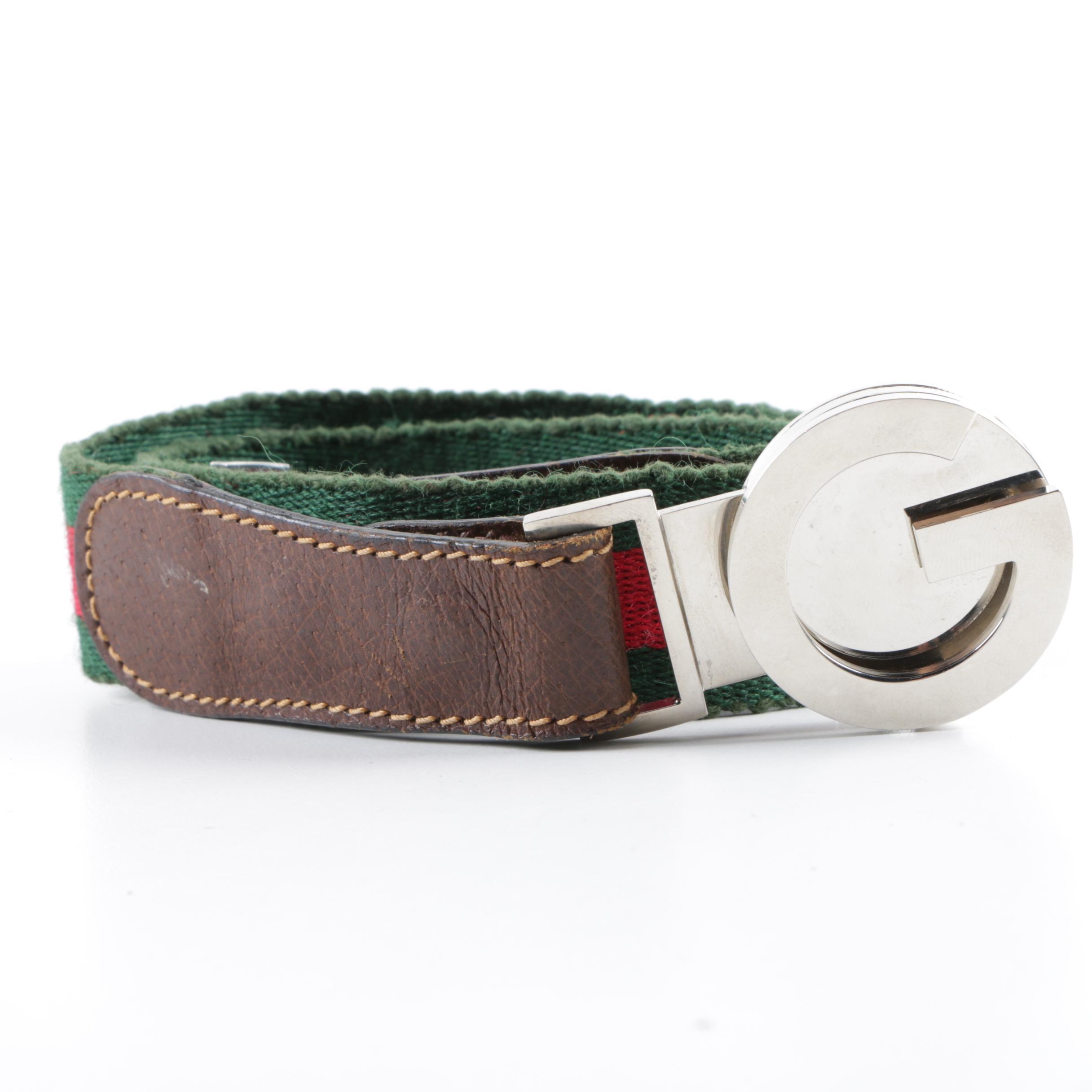 1970s Vintage Gucci Belt with Original Box