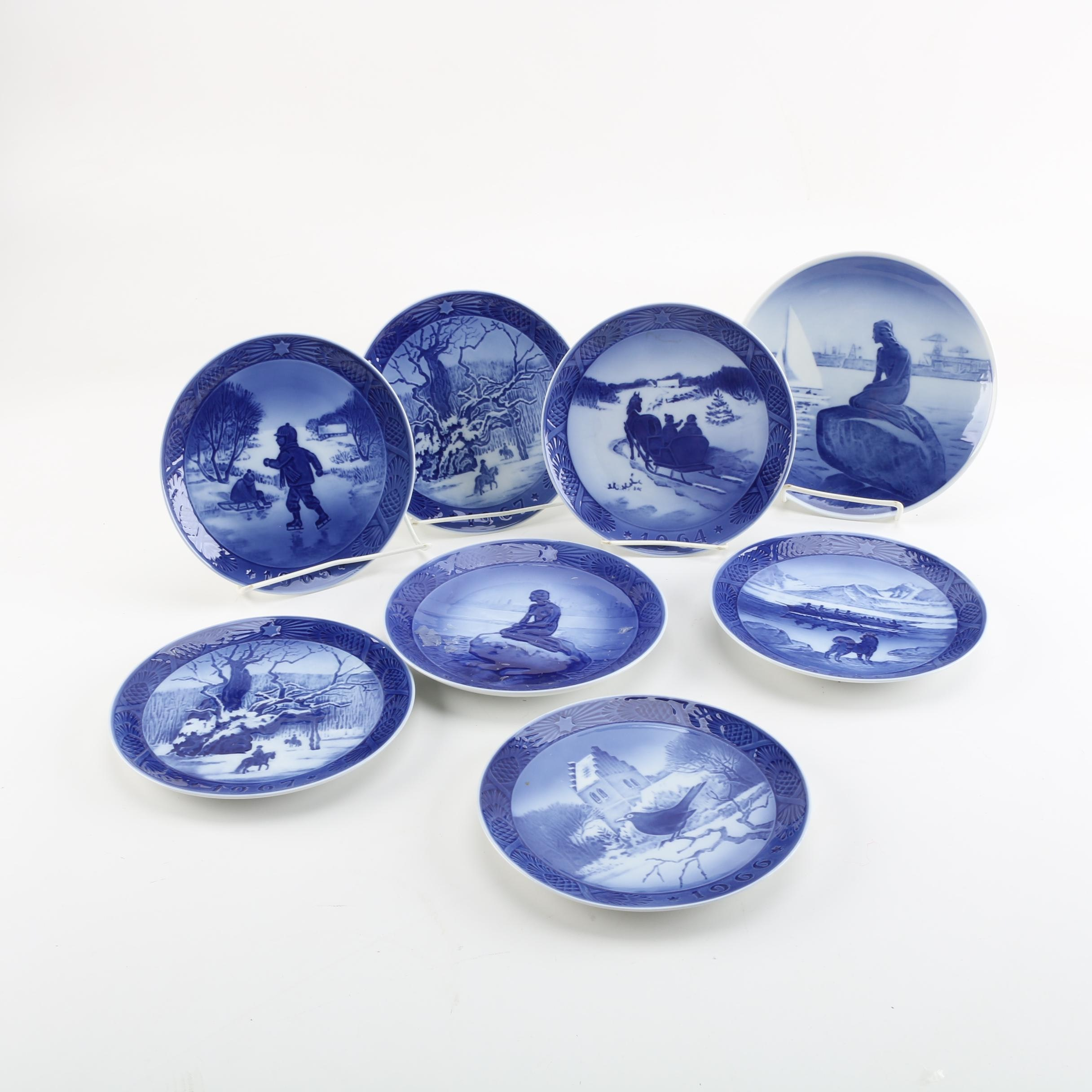 Royal Copenhagen Porcelain Collector Plates